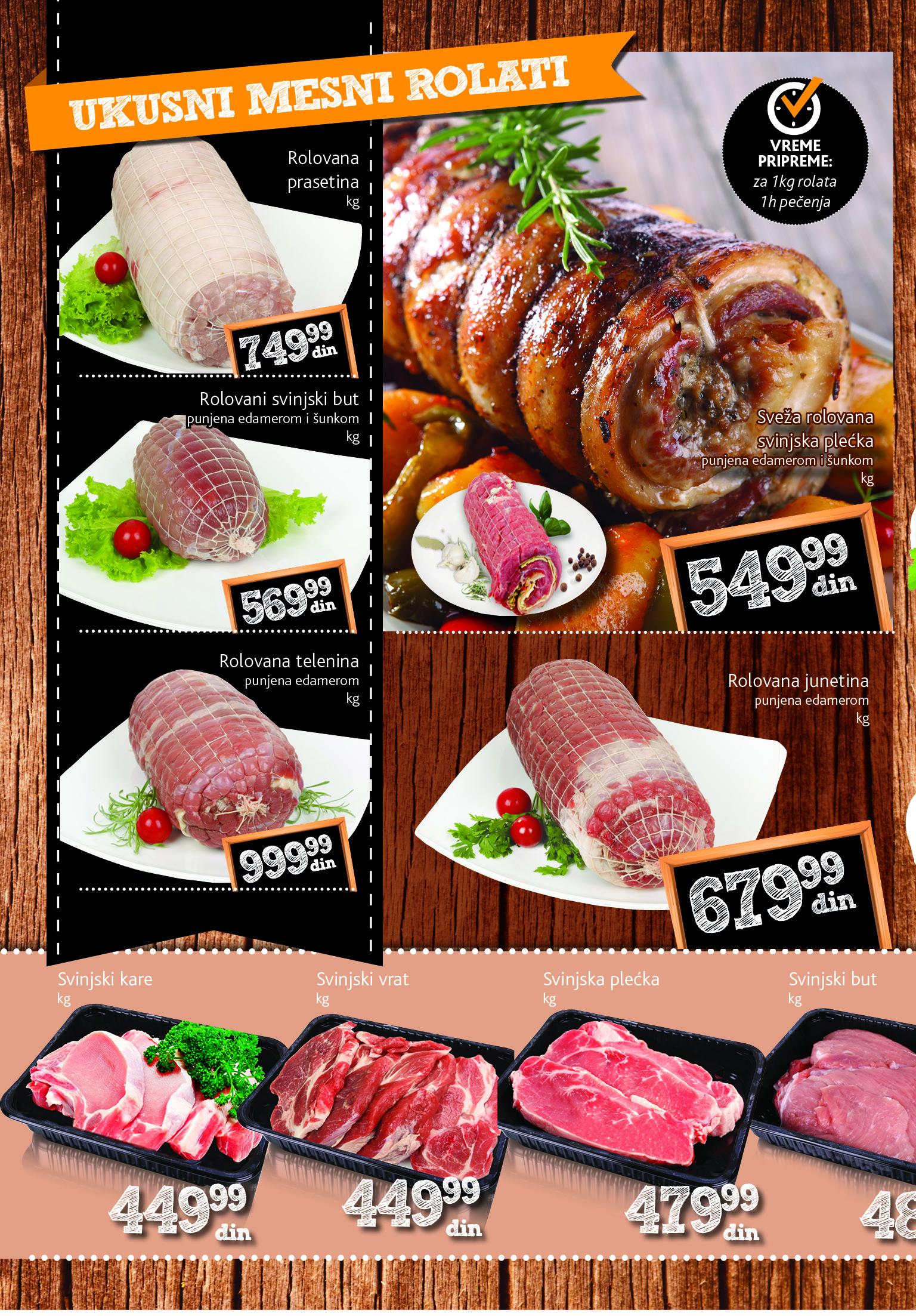 Idea katalog nedelja mesa