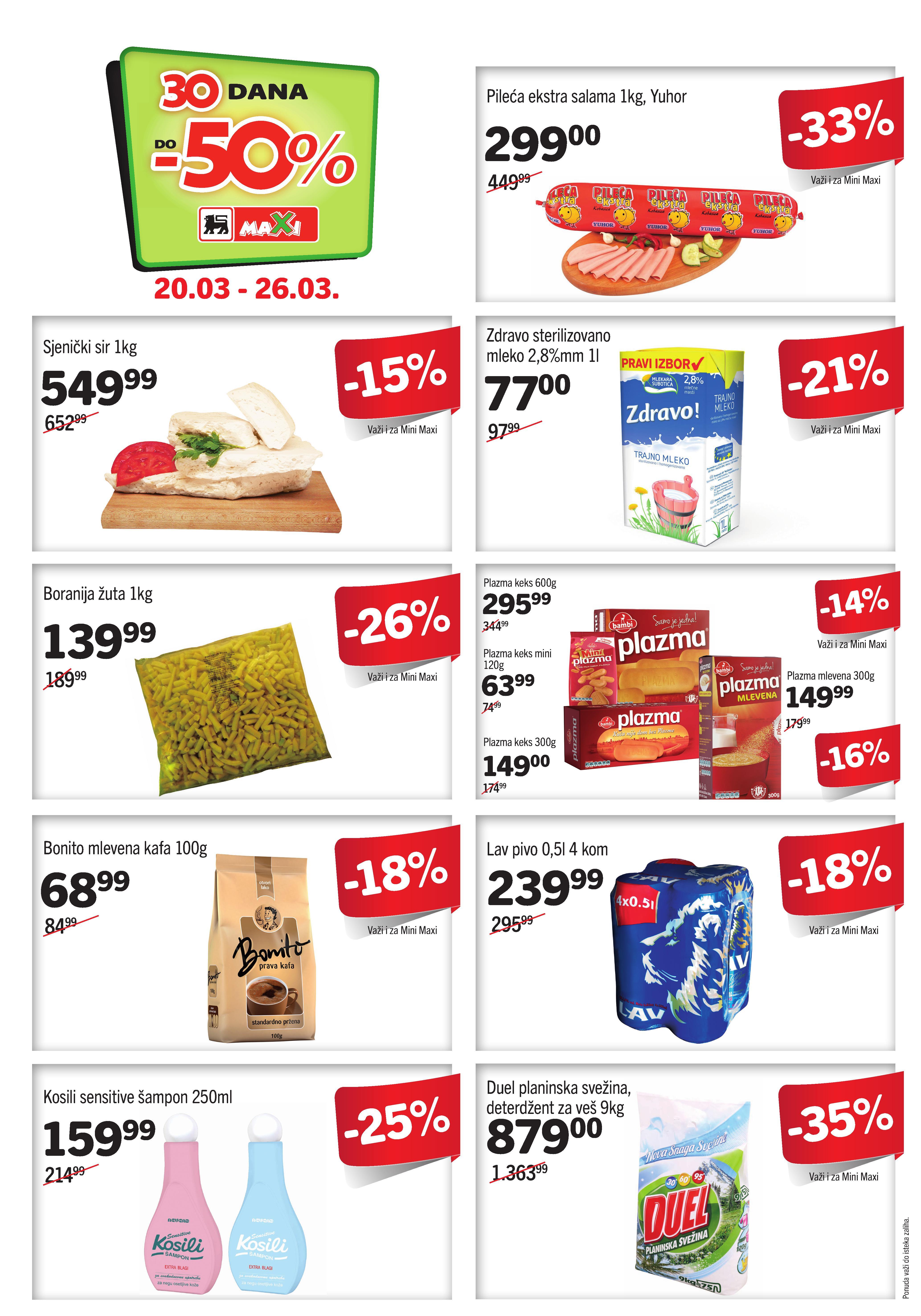 Maxi katalog super cene za vas