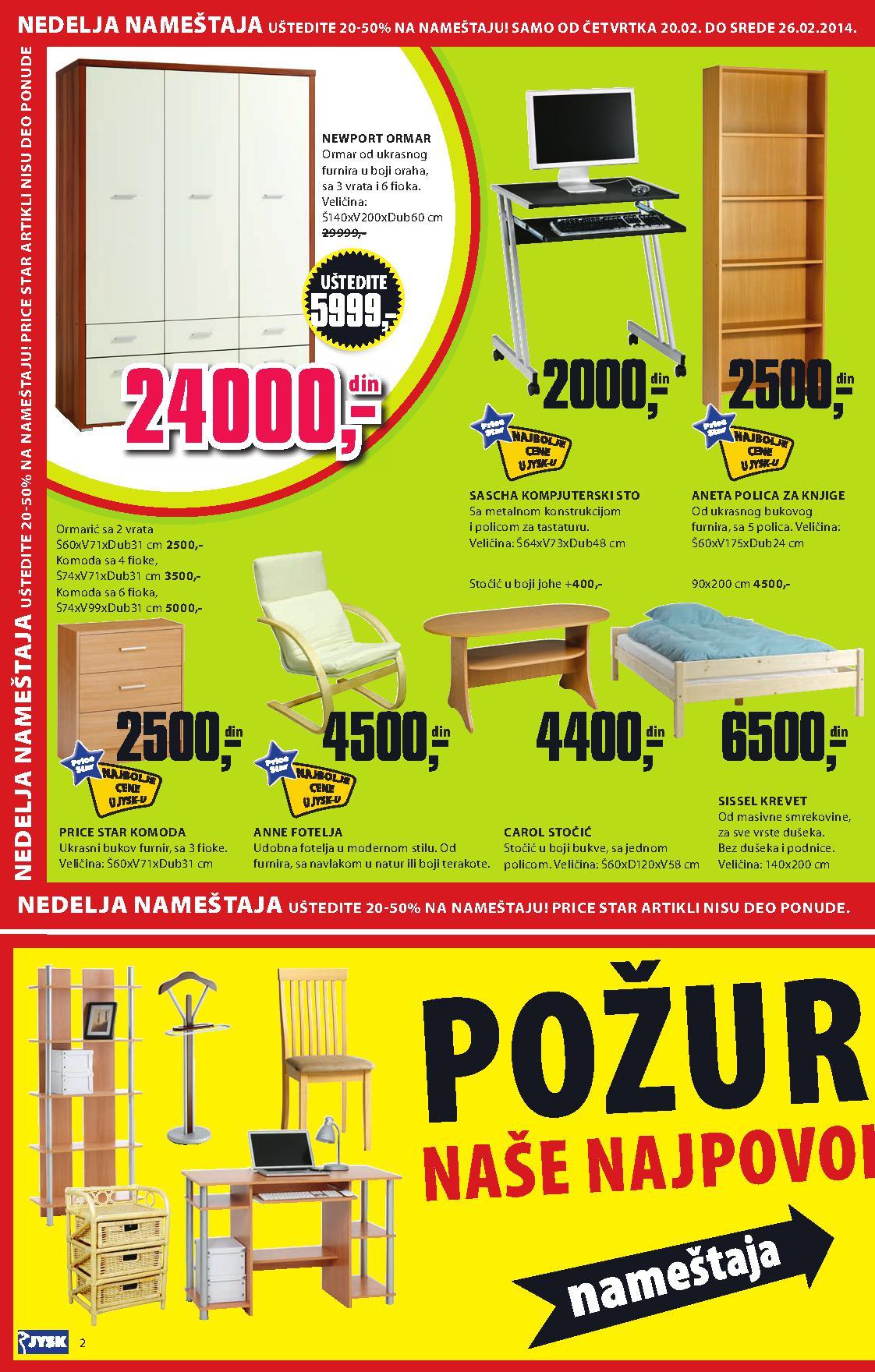 JYSK katalog odlične kupovine za vas