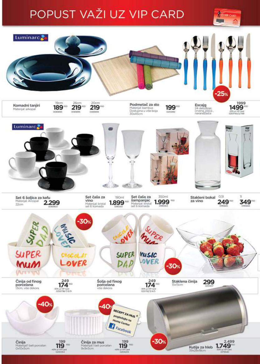 Home Centar katalog sjajna ponuda
