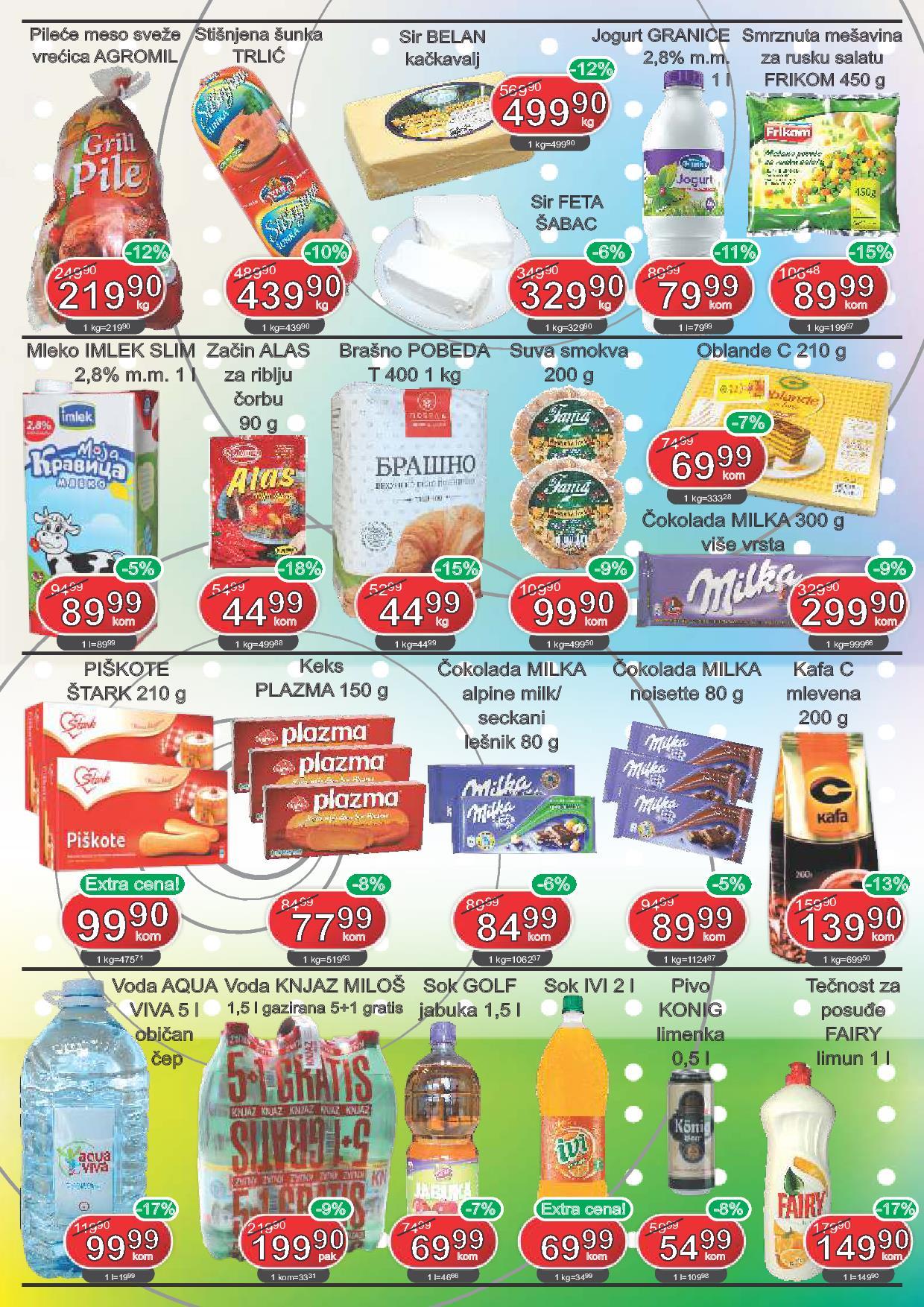 Fortuna market akcija odličnih cena