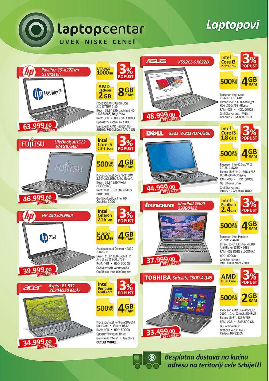 Laptop centar akcija super ponude
