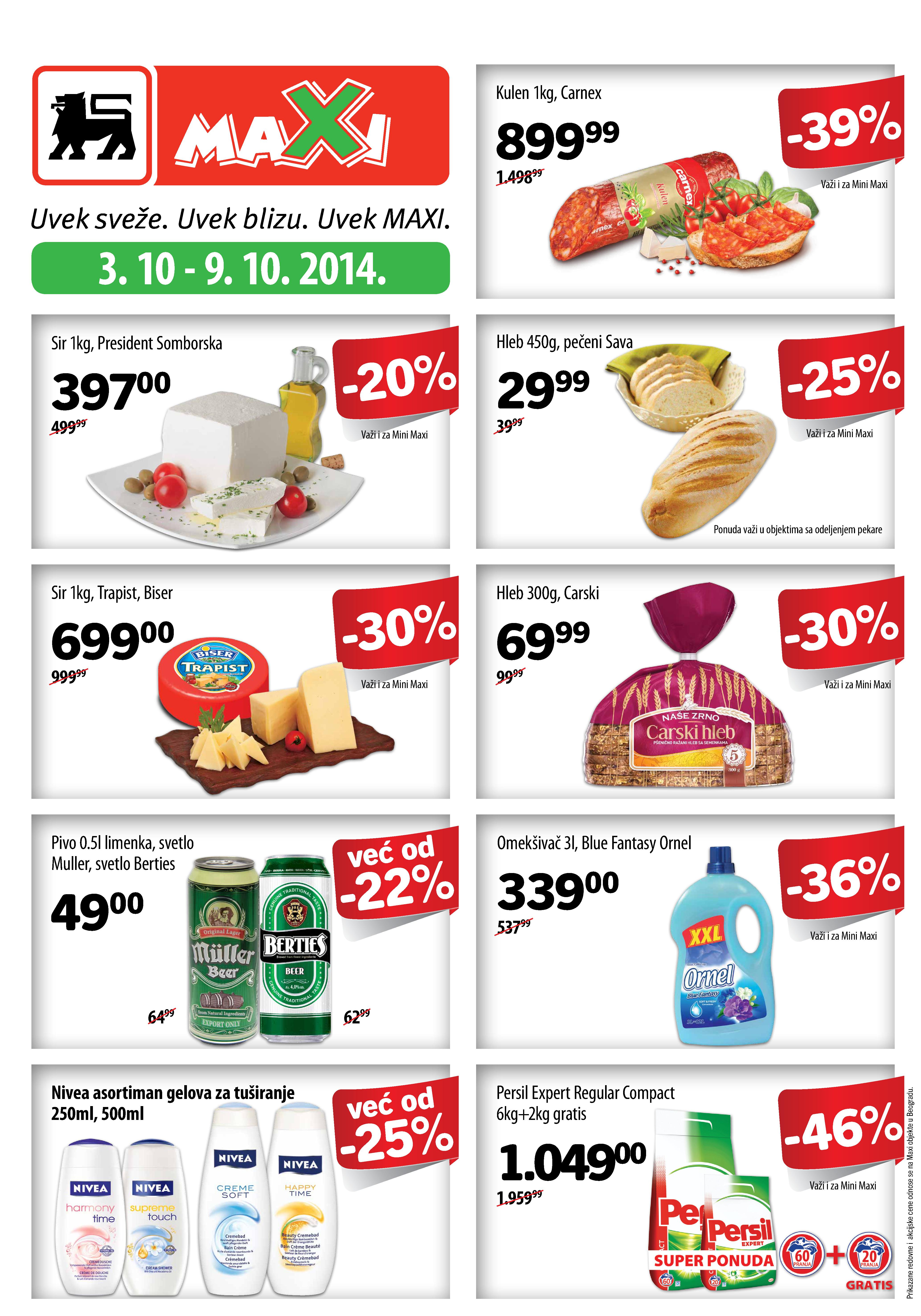 Maxi akcija nedelja super kupovine