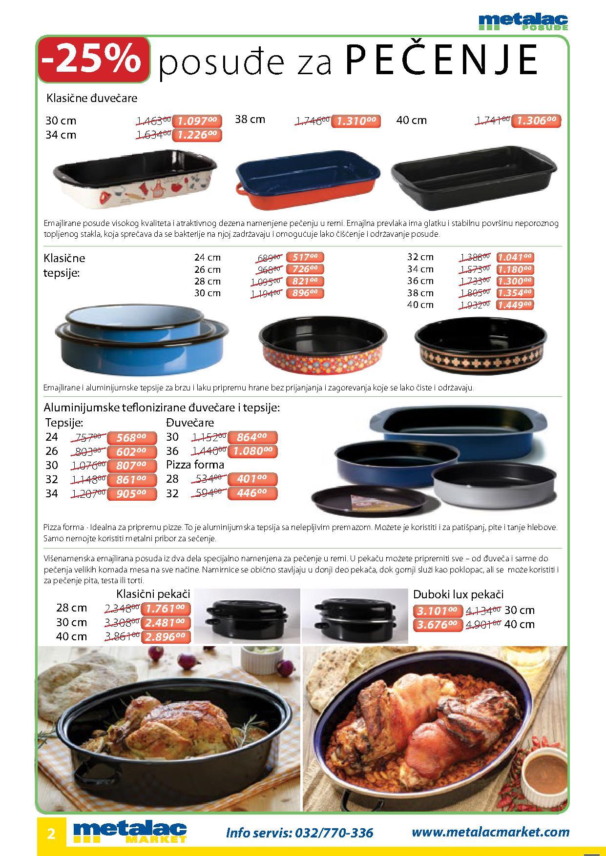 Metalac katalog super ponuda za vas