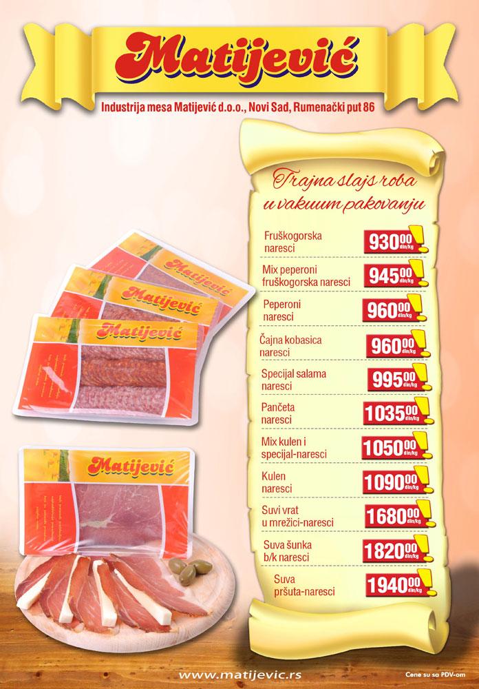 Matijević katalog novogodišnje ponude