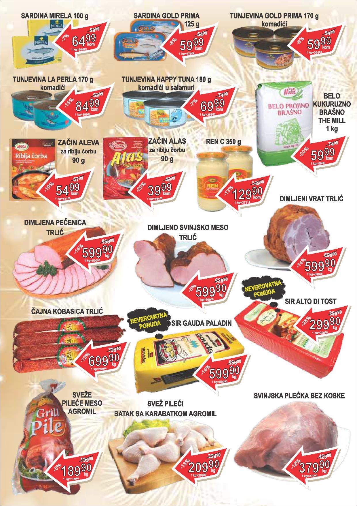Fortuna market Božićna akcija