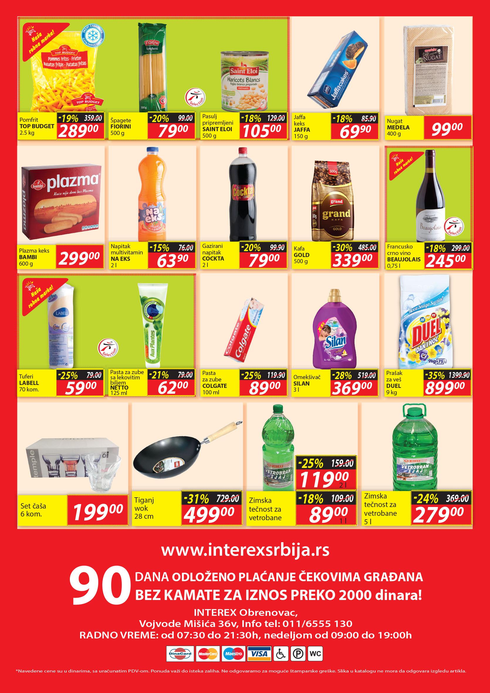 Interex katalog super cena