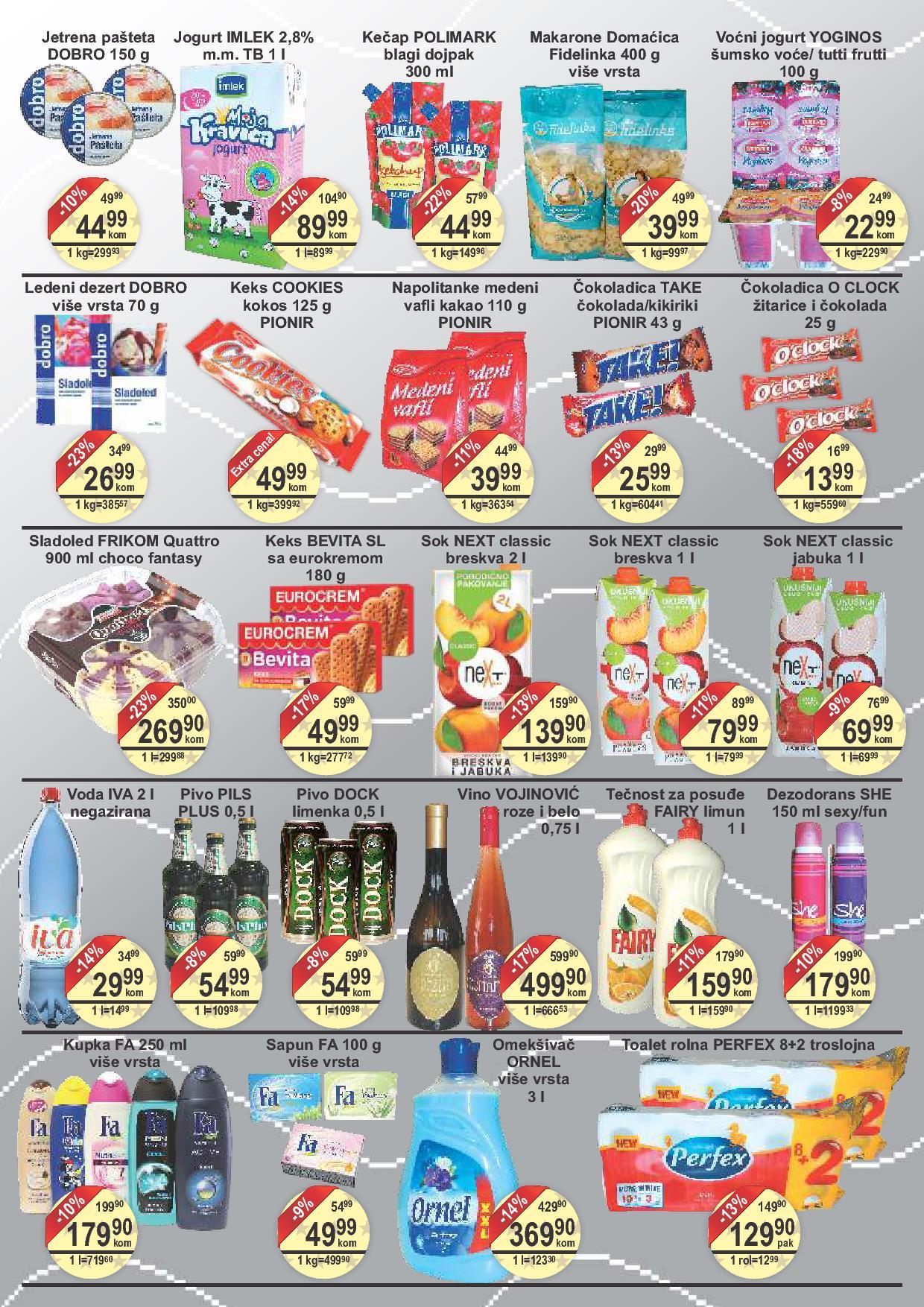Fortuna market vikend super cena