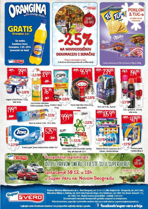 Super Vero katalog novogodišnje kupovine