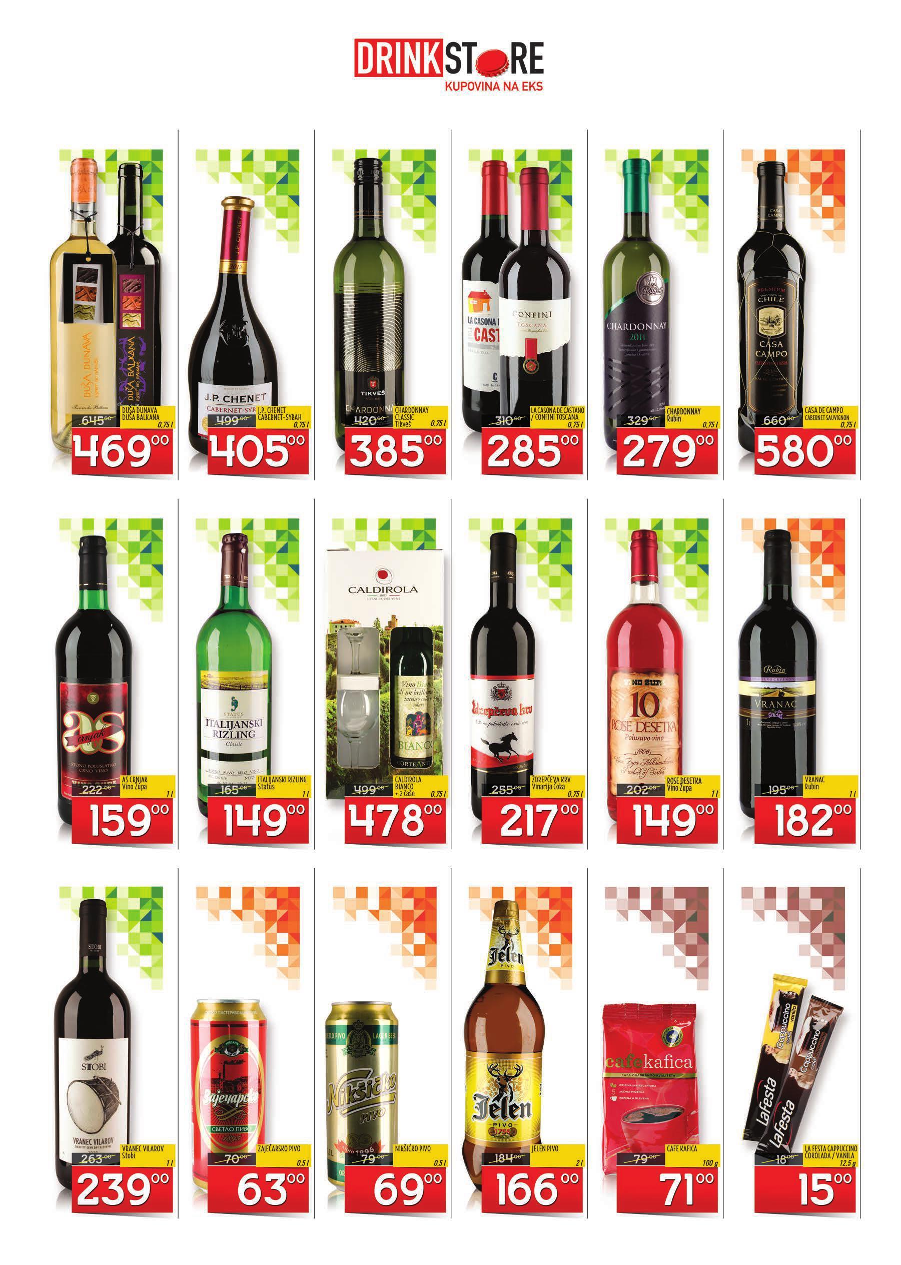 Drink Store akcija jesenje ponude