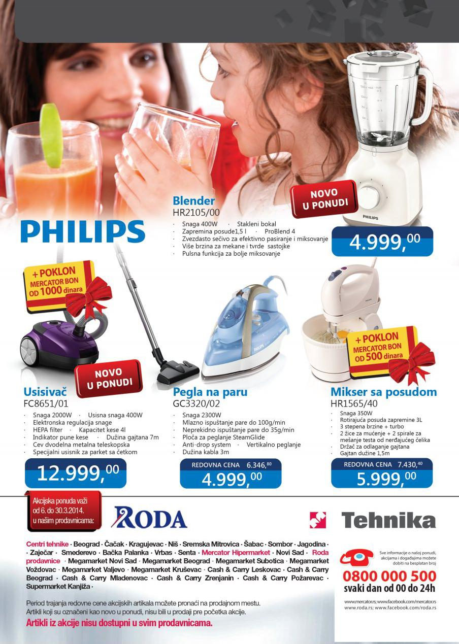 Roda katalog Philips proizvodi na akciji