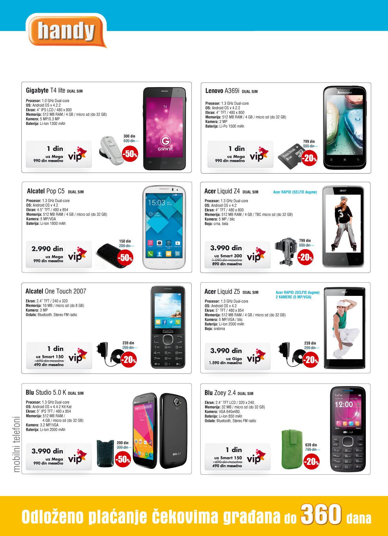 Handy akcija novembarske ponude