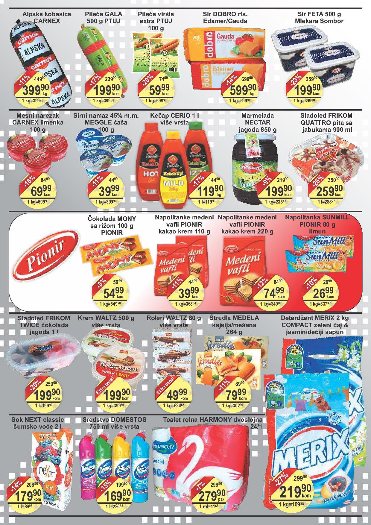 Fortuna market akcija vikend odlične kupovine