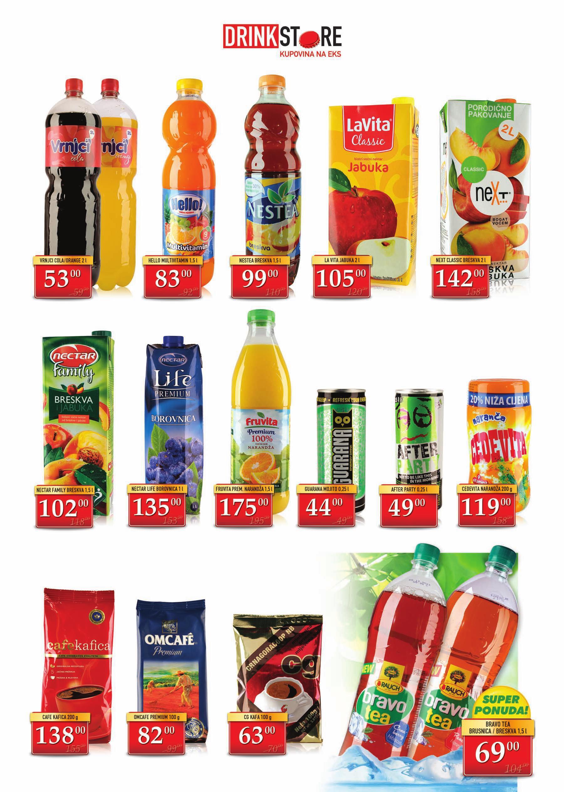 Drink Store akcija niskih cena
