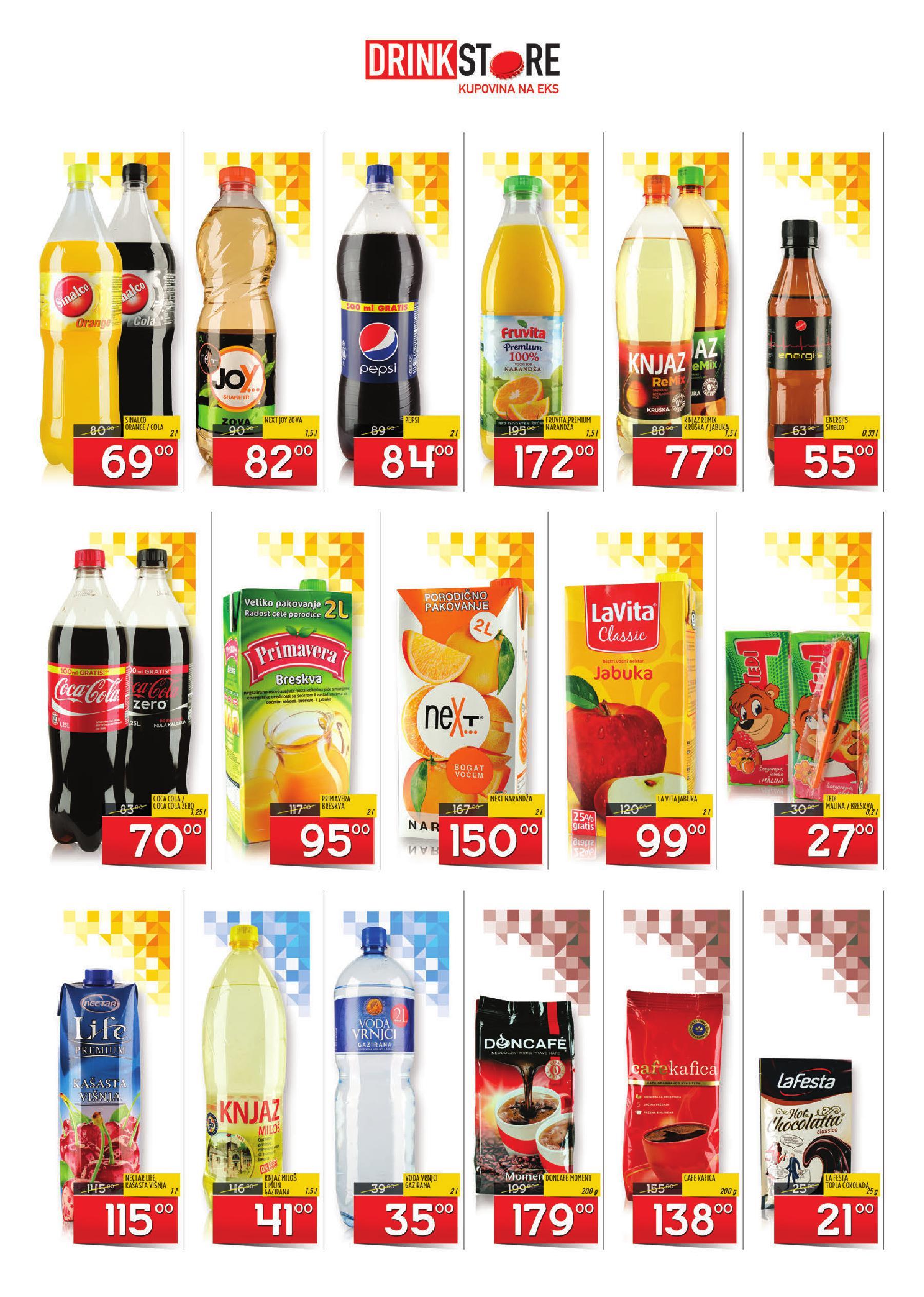 Drink Store akcija mesec super ponude