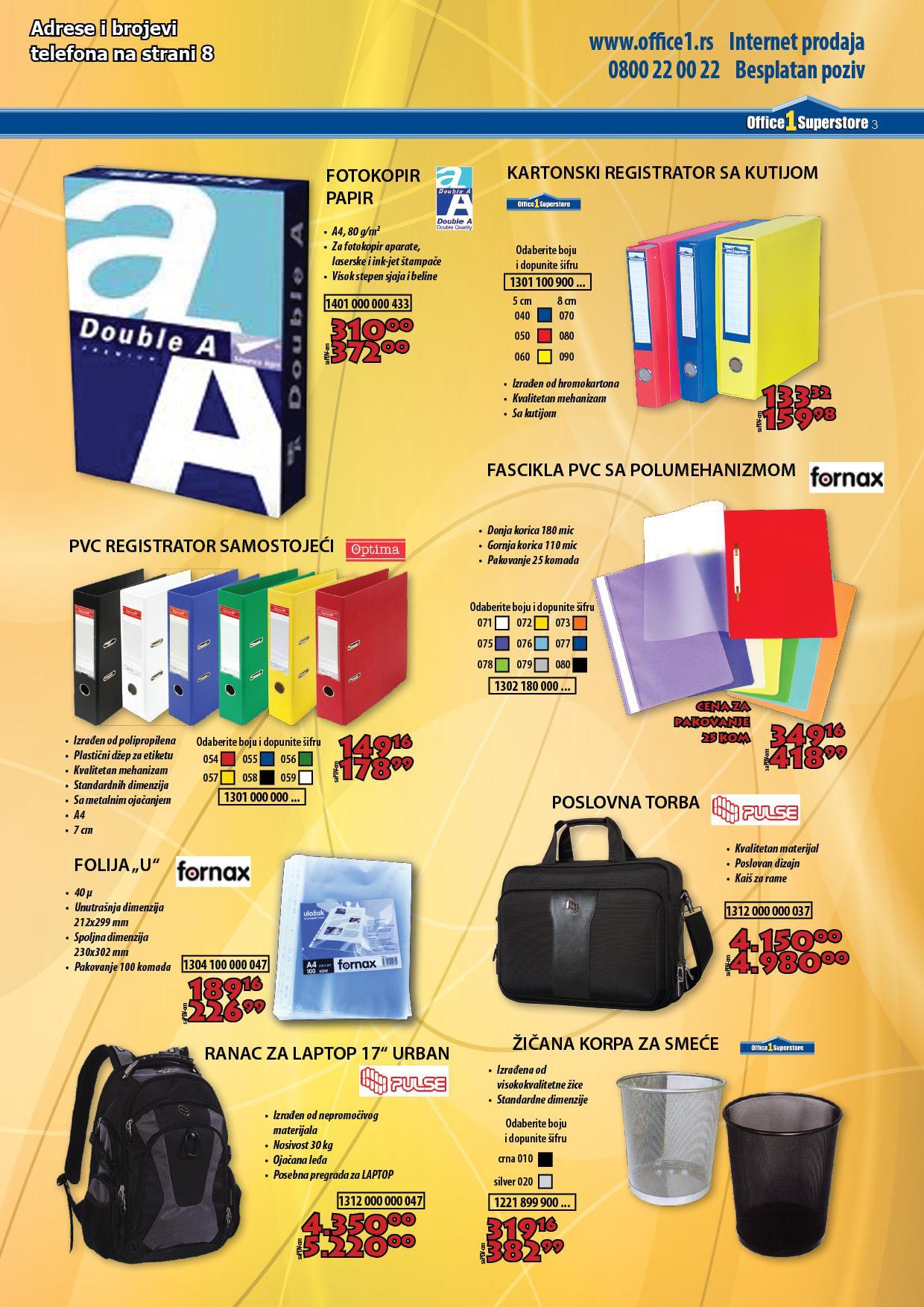 Office1 superstore akcija super cena