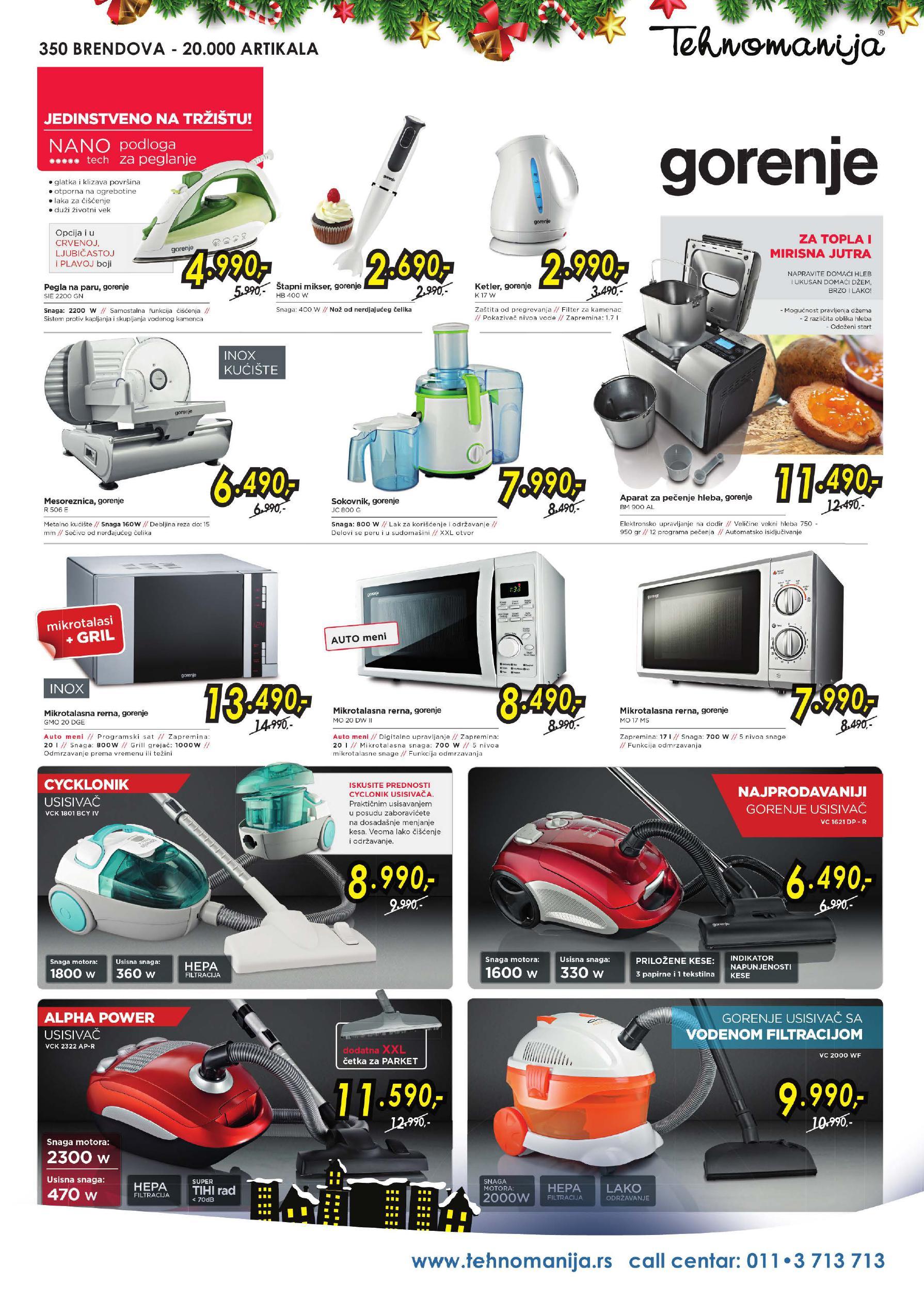 Tehnomanija katalog super ponuda malih kućnih aparata