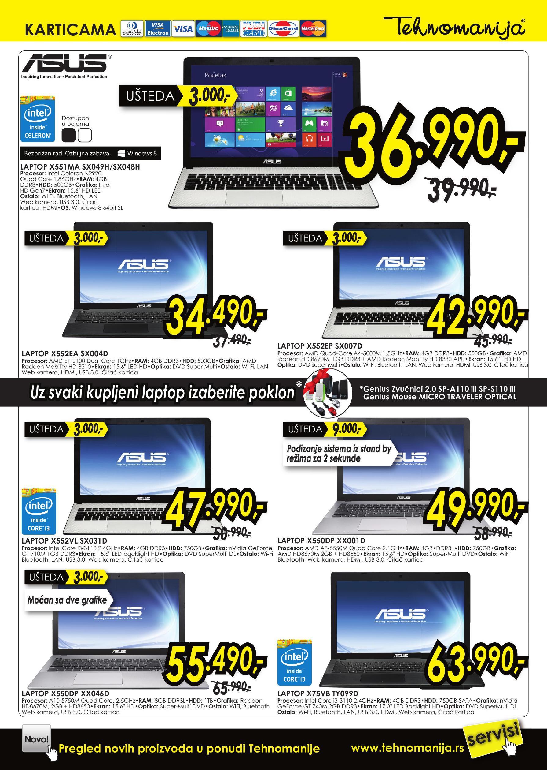 Tehnomanija akcija IT shop