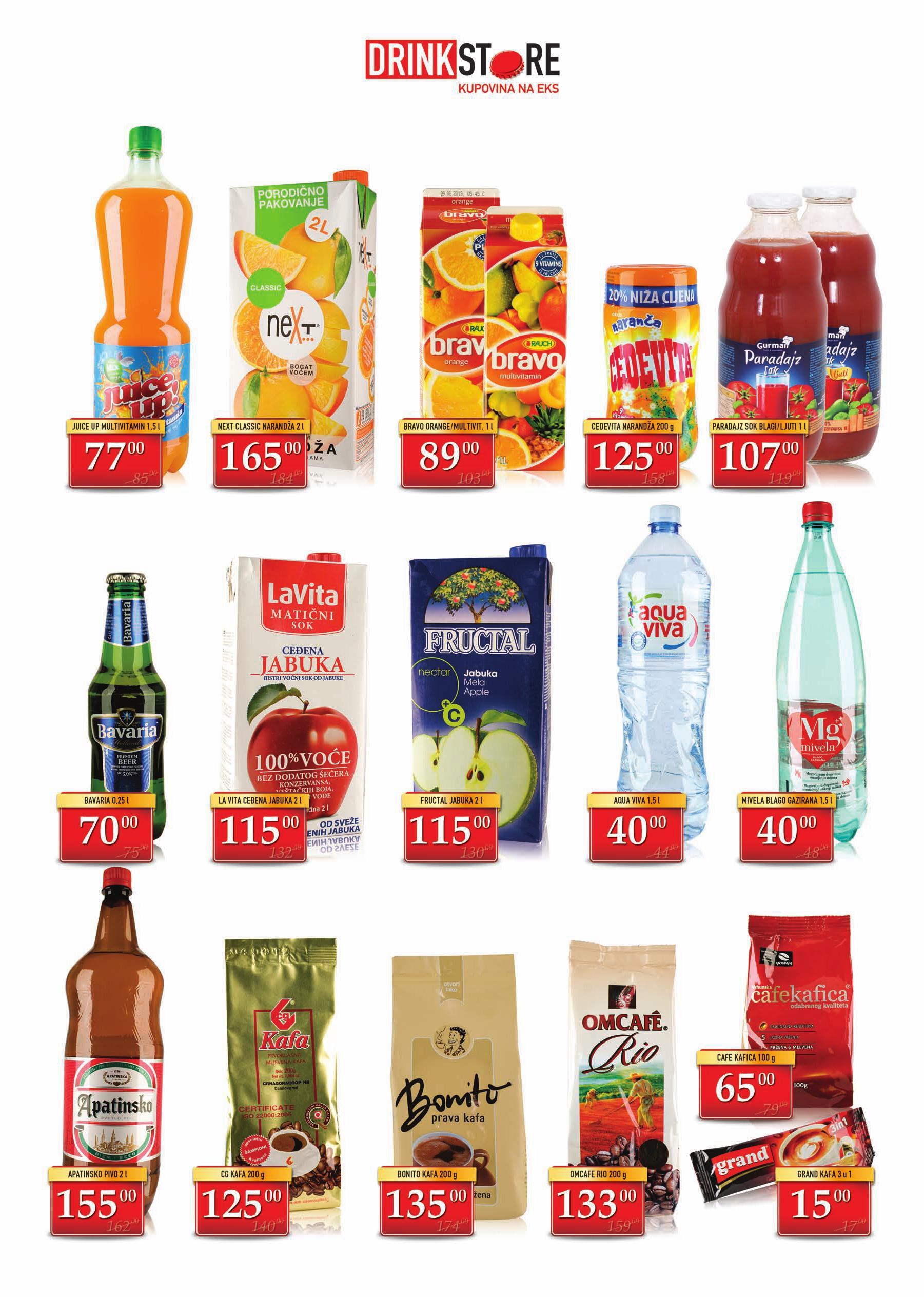 Drink Store katalog odlične ponude