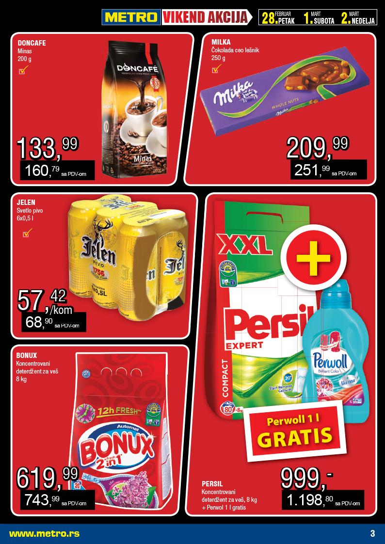 Metro katalog vikend super kupovine počinje