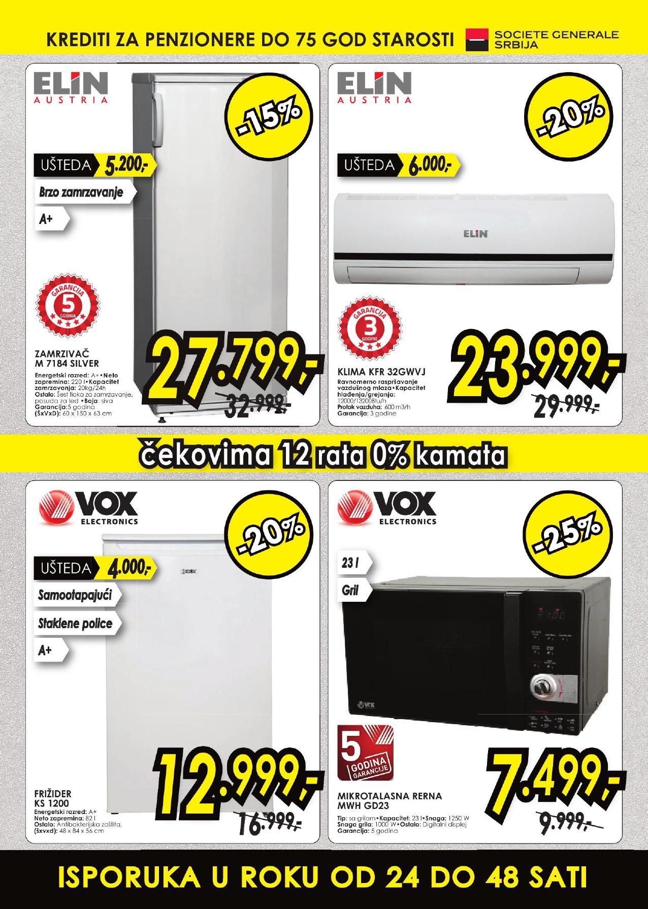Tehnomanija akcija vikend super cena u Vojvodini