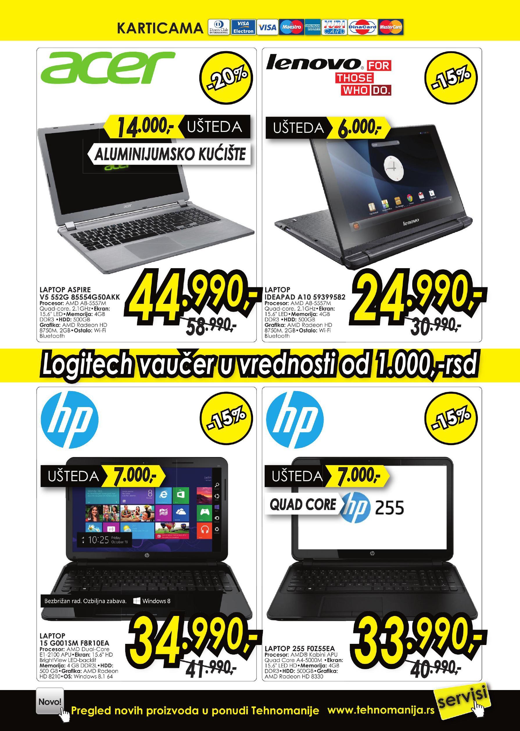 Tehnomanija akcija IT uređaja