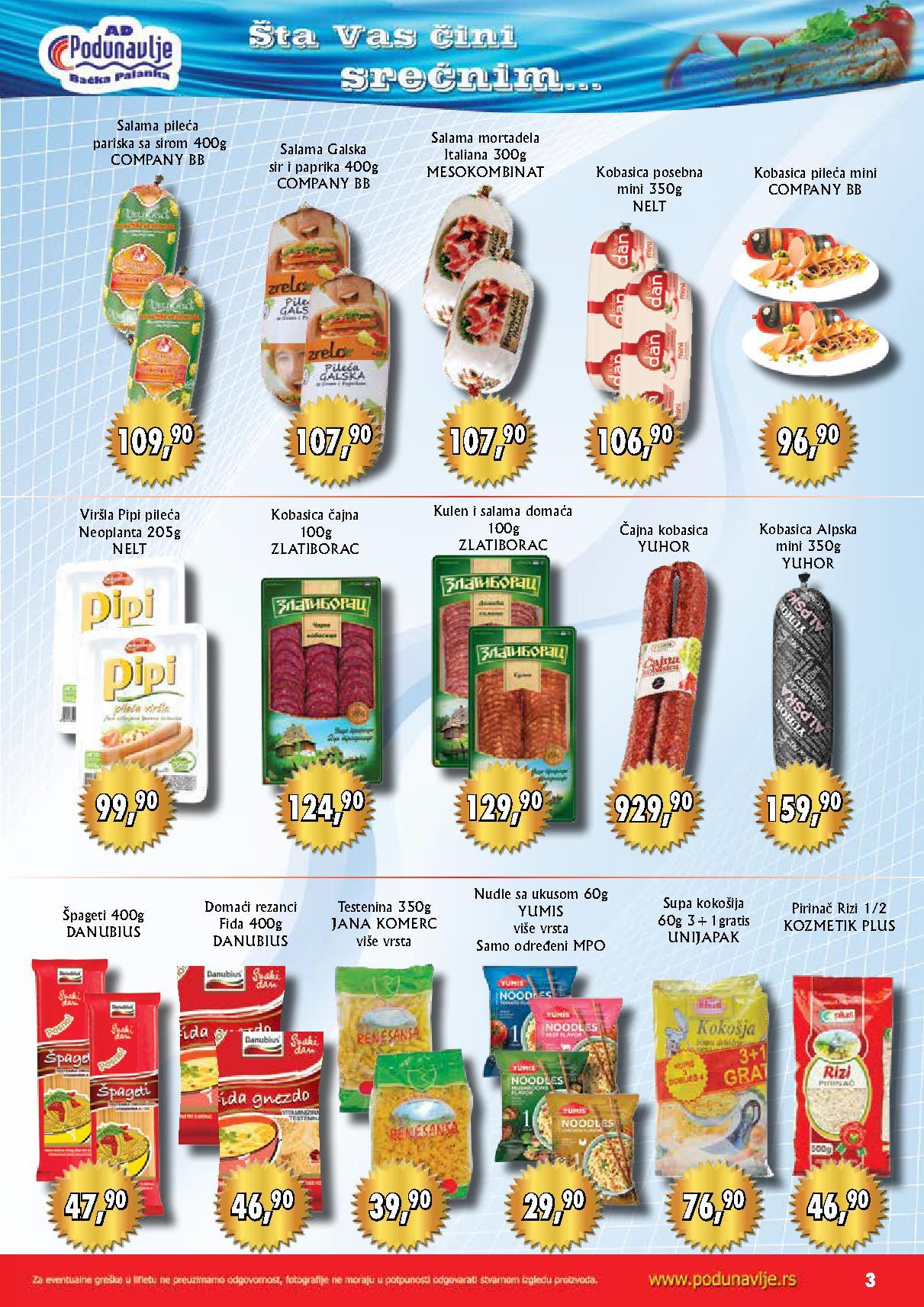 AD Podunavlje akcija super cena