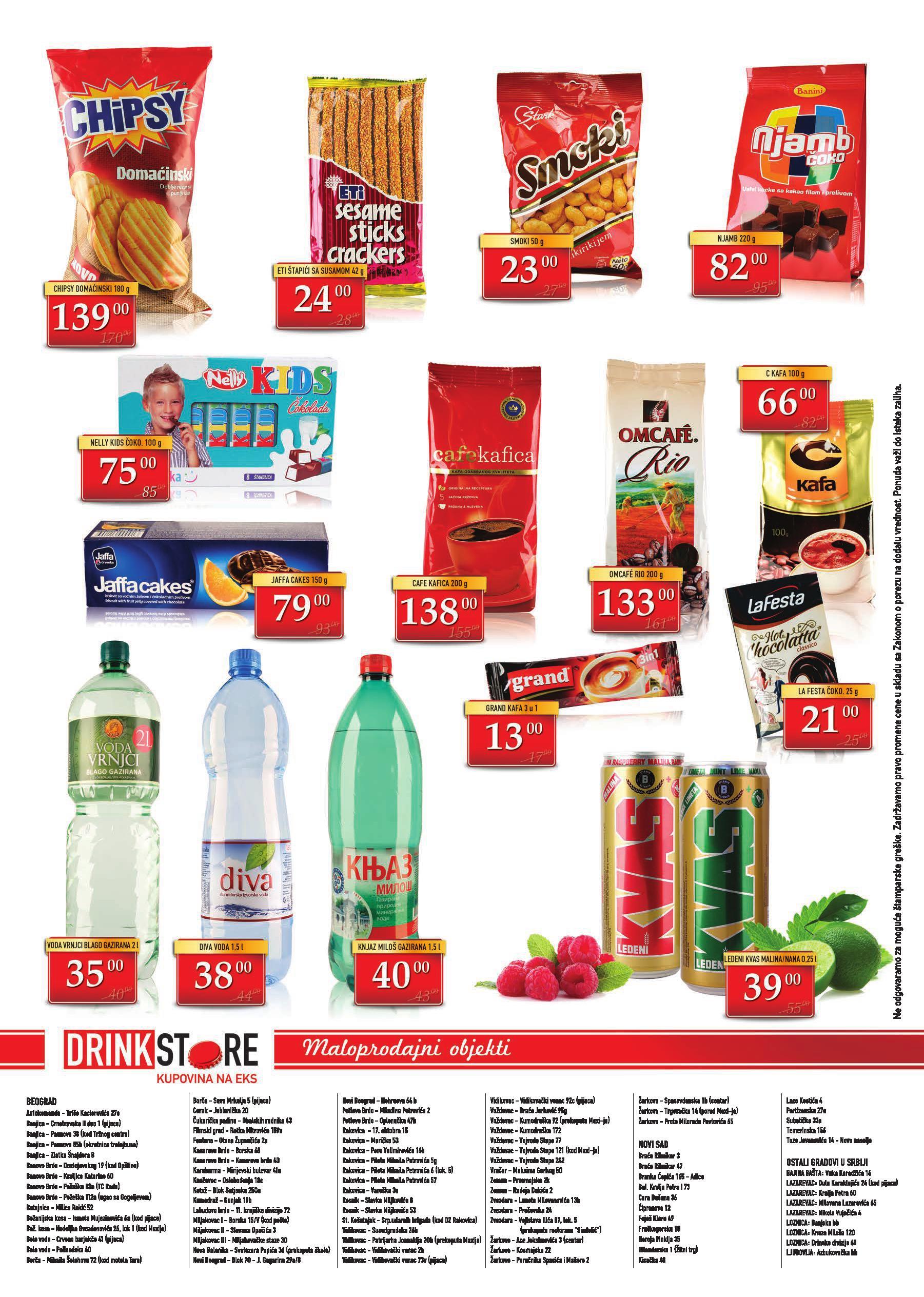 Drink Store akcija super ponuda pića