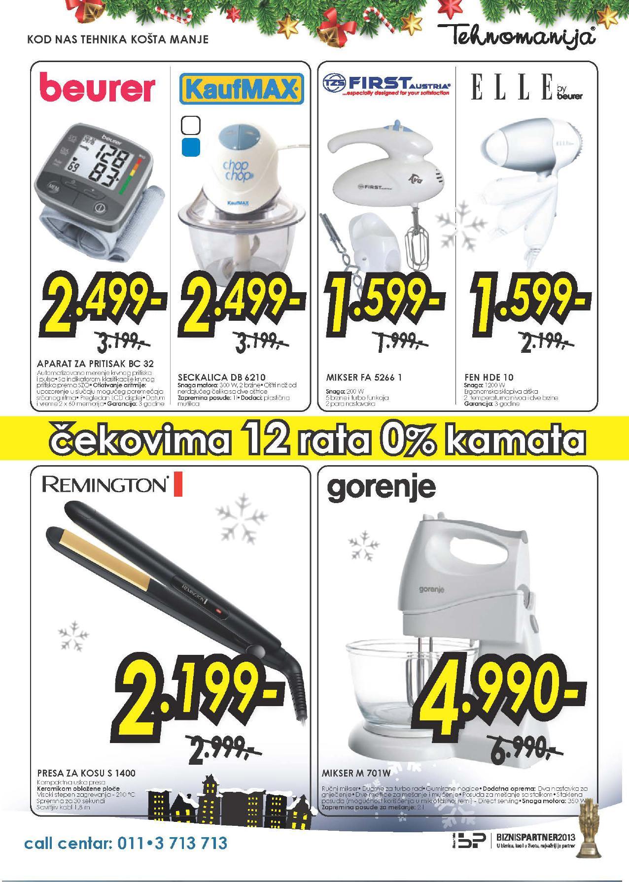 Tehnomanija katalog vikend odličnih popusta