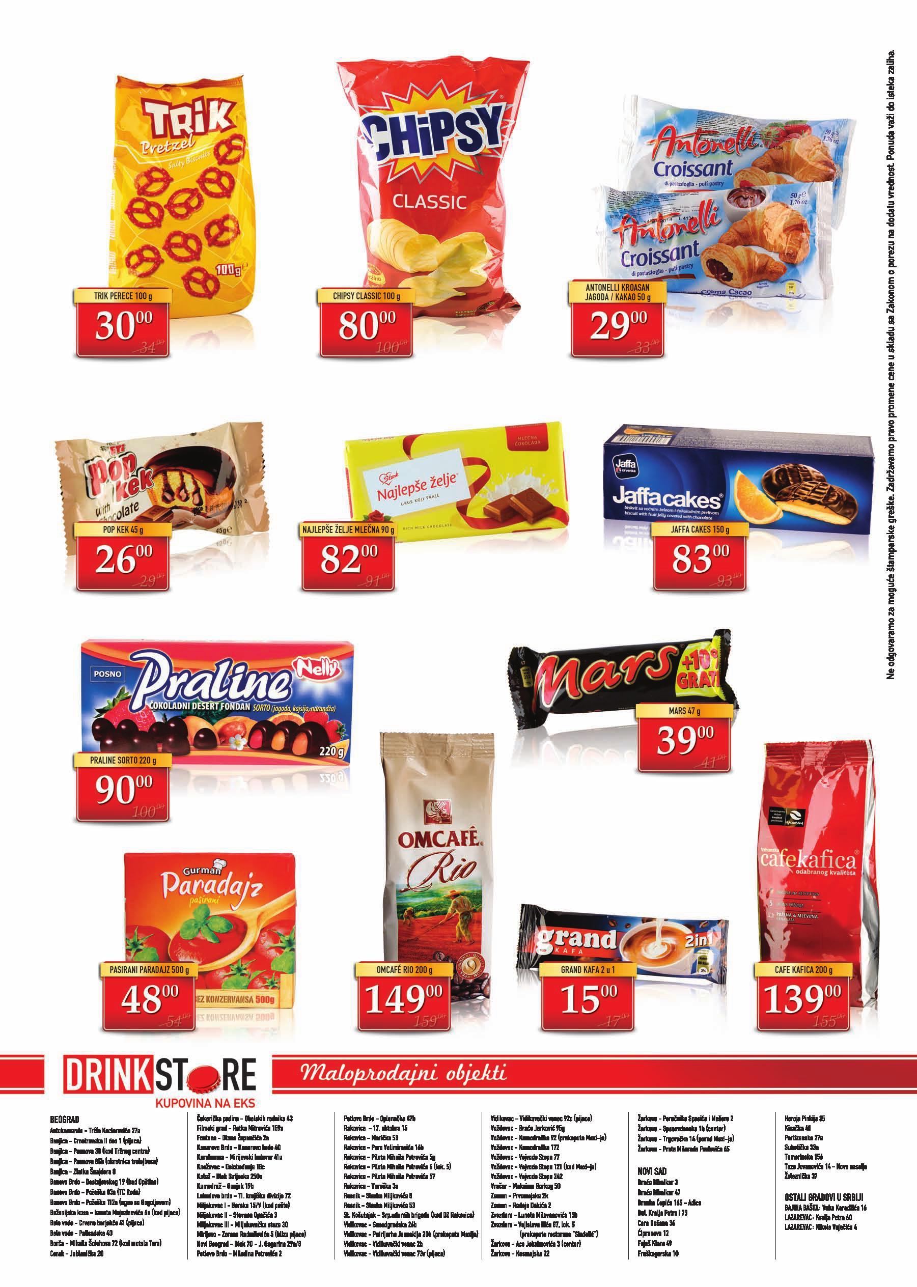 Drink Store akcija odlične ponude za vas
