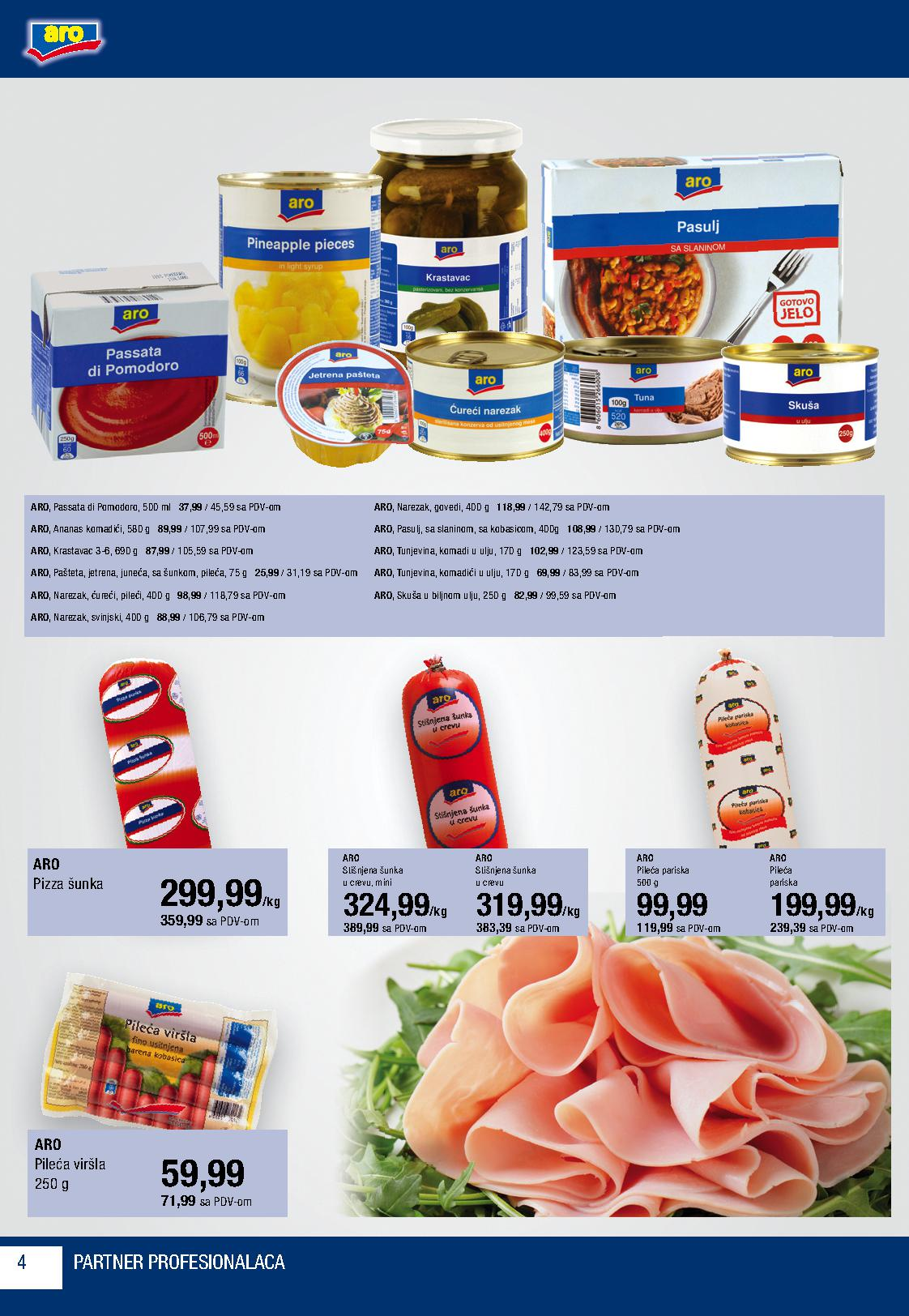 Metro katalog ponuda Aro proizvoda