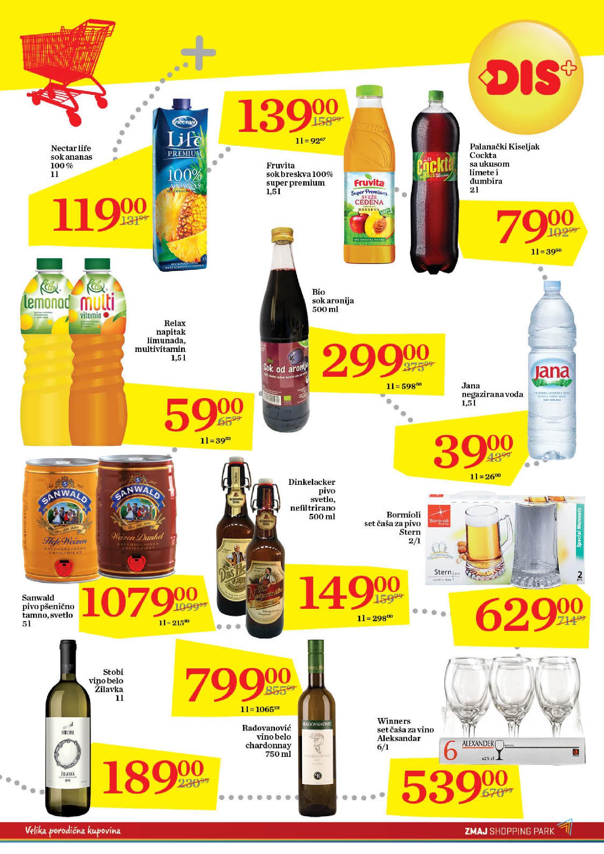 Dis akcija ponuda niskih cena u Beogradu