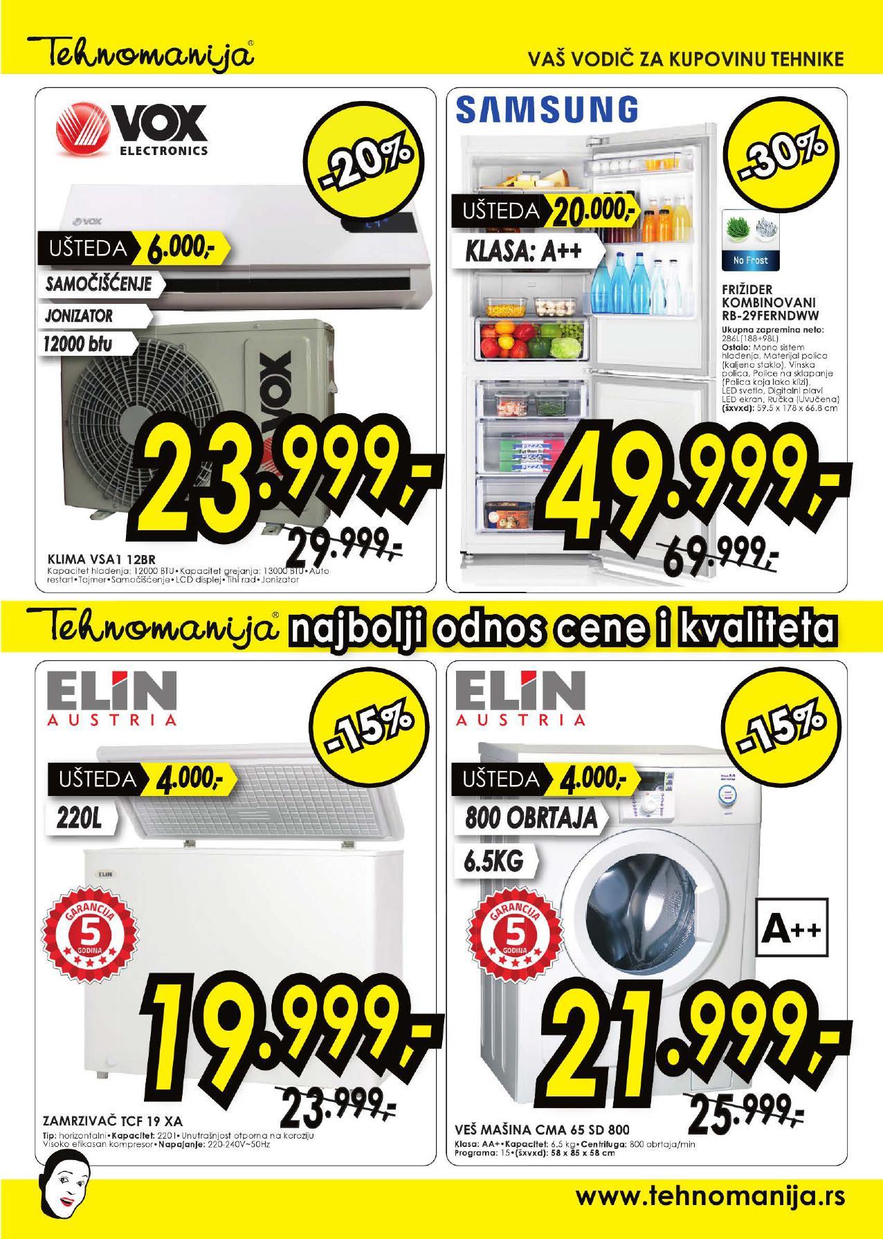 Tehnomanija katalog vikend odličnih cena