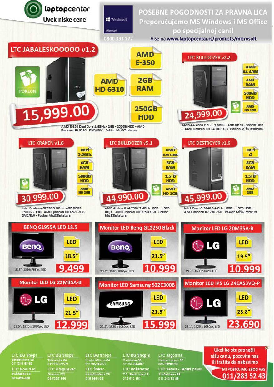 Laptop Centar akcija niskih cena
