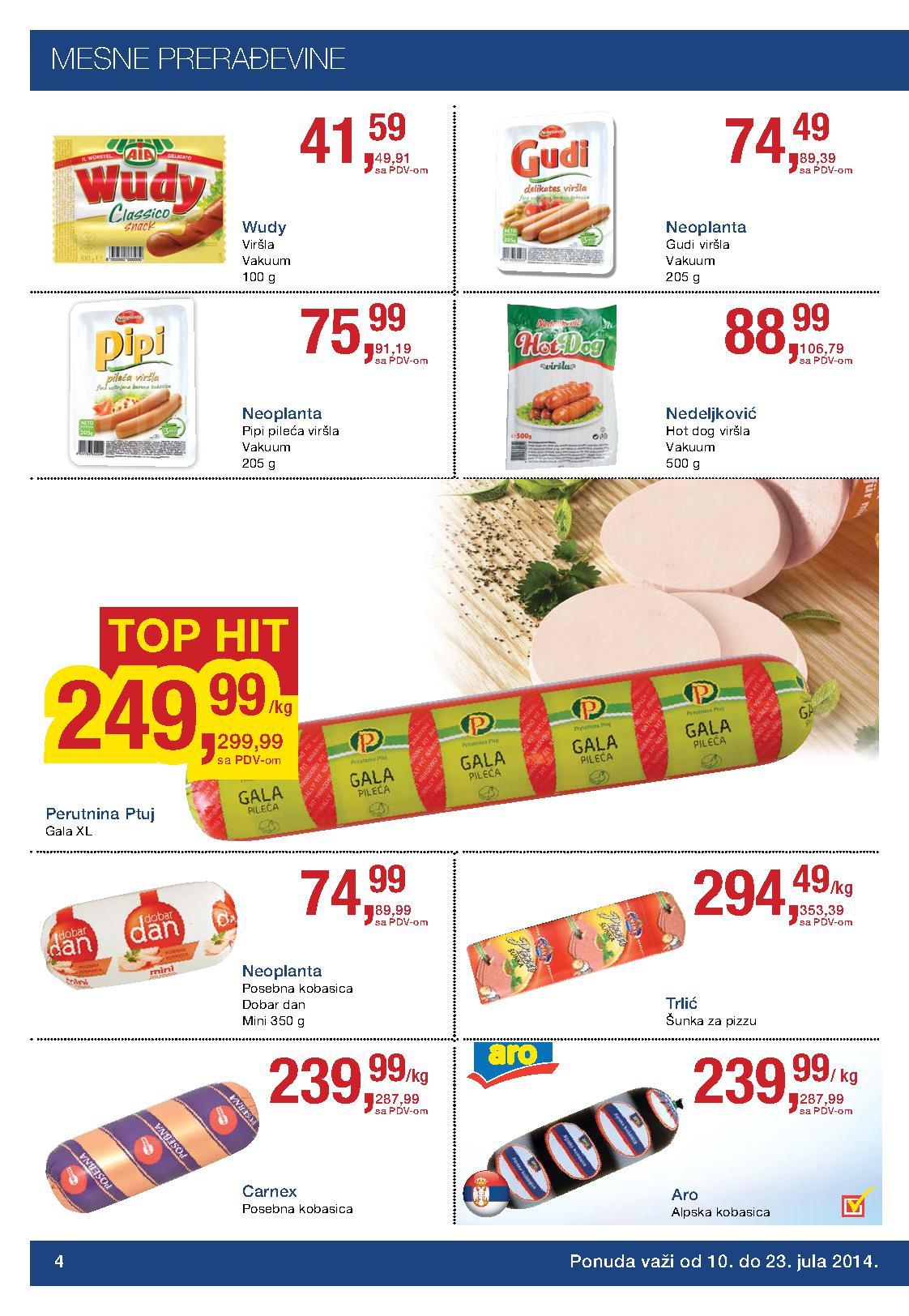 Metro prehrana akcija sjajnih cena