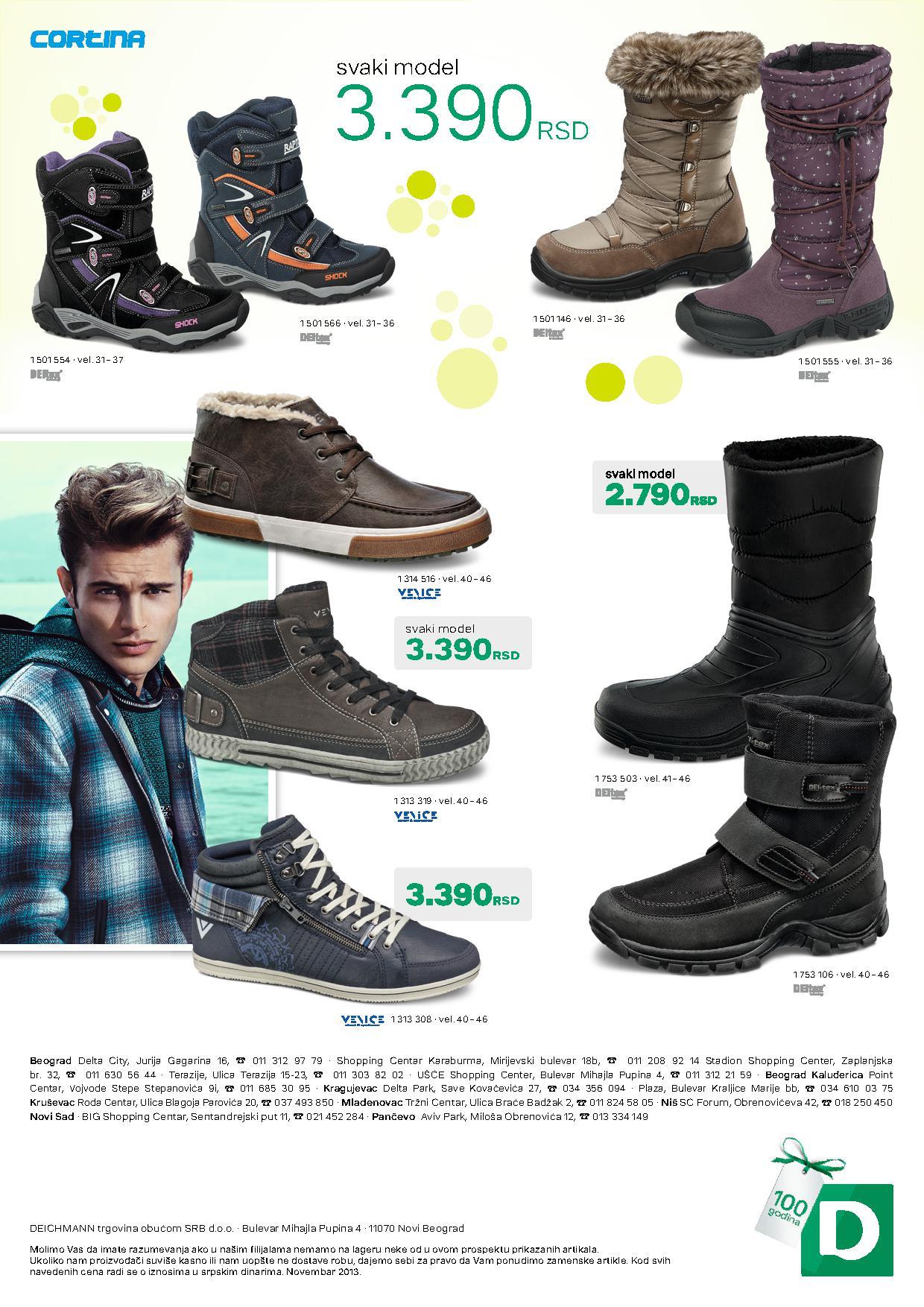 Deichmann katalog najbolja ponuda obuće za vas