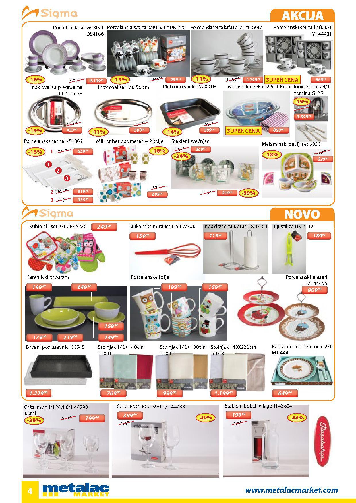 Metalac katalog super ponude