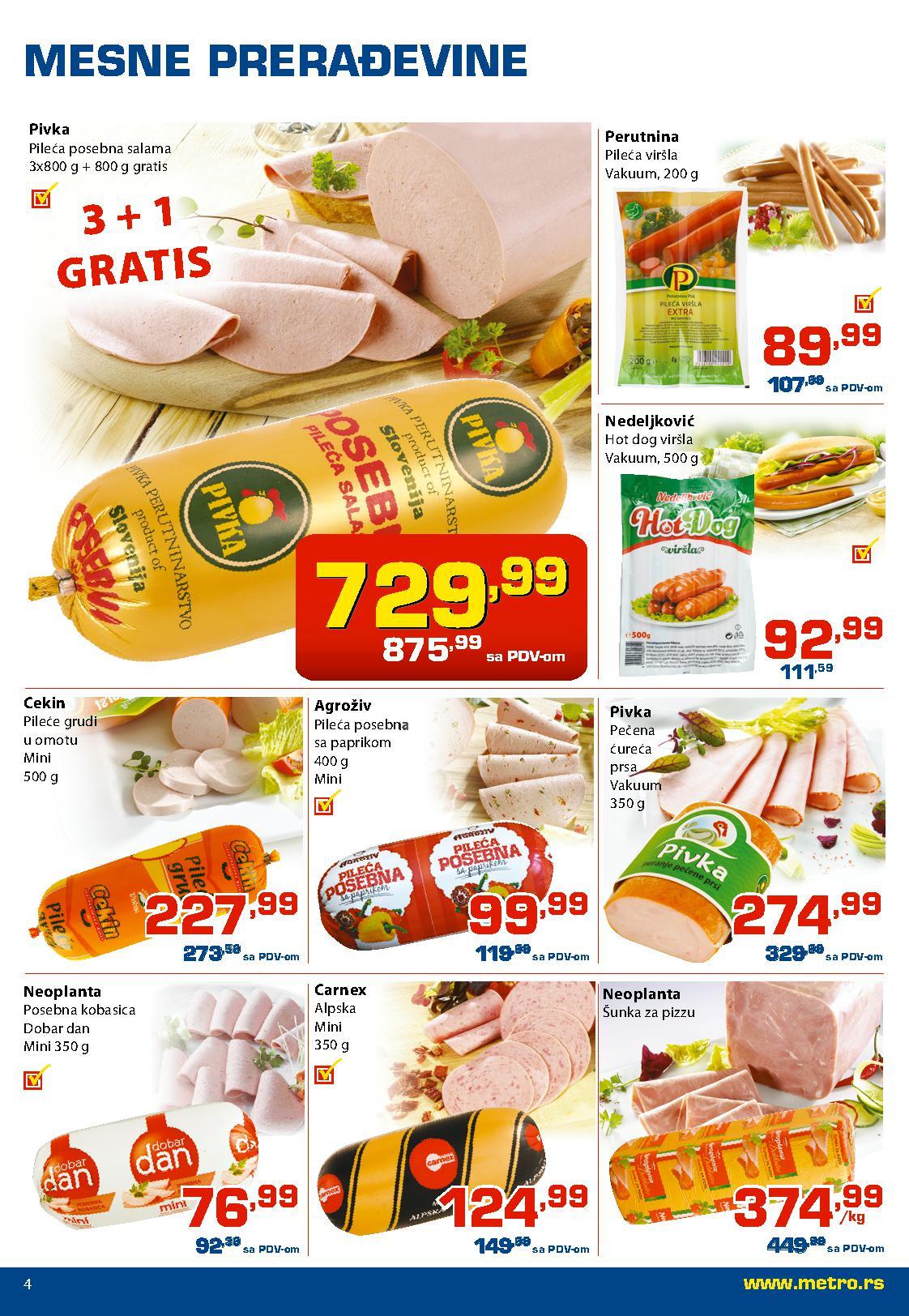 Metro katalog prehrana po povoljnim cenama