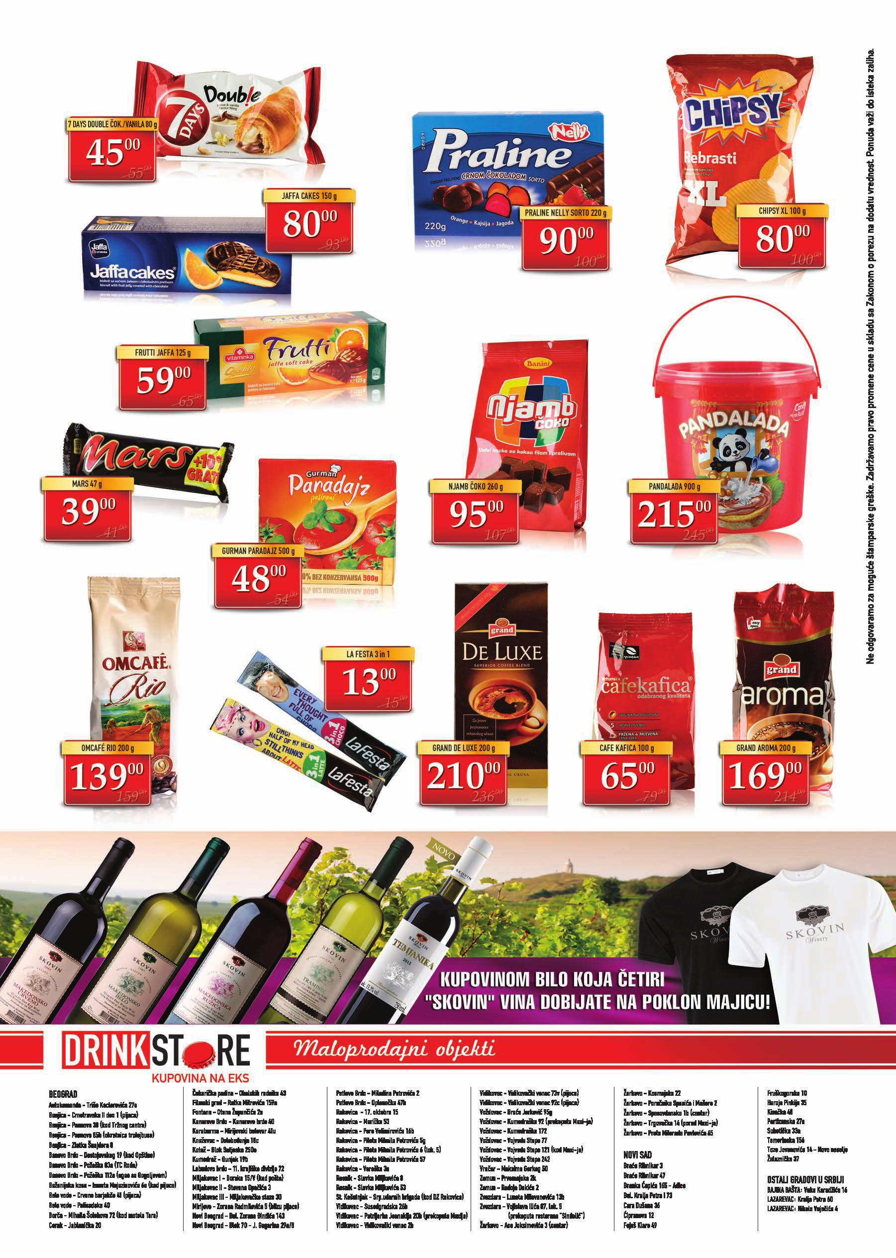 Drink Store katalog super ponuda