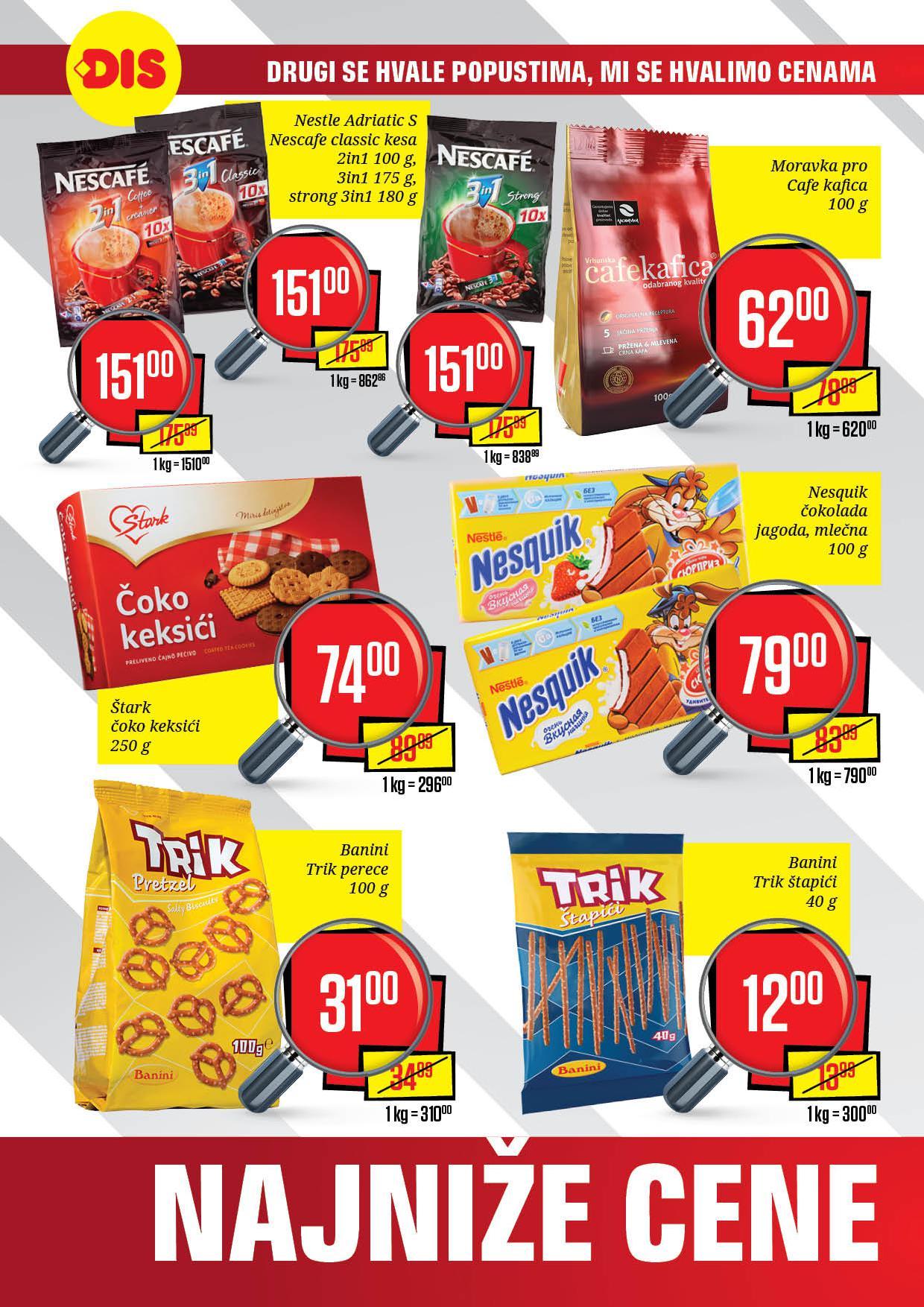Dis katalog niske cene u Jagodini