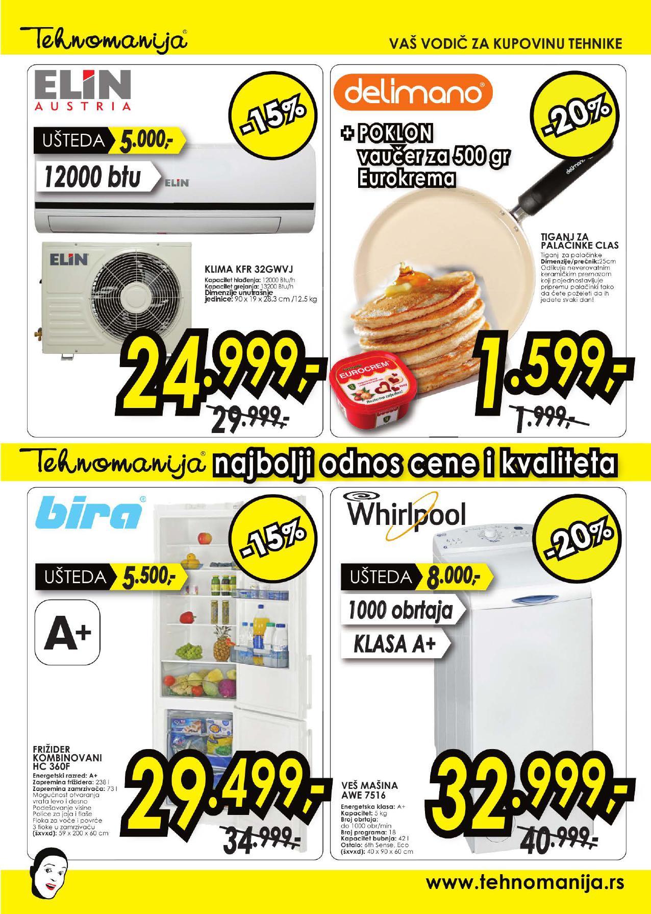 Tehnomanija katalog vikend vaše kupovine