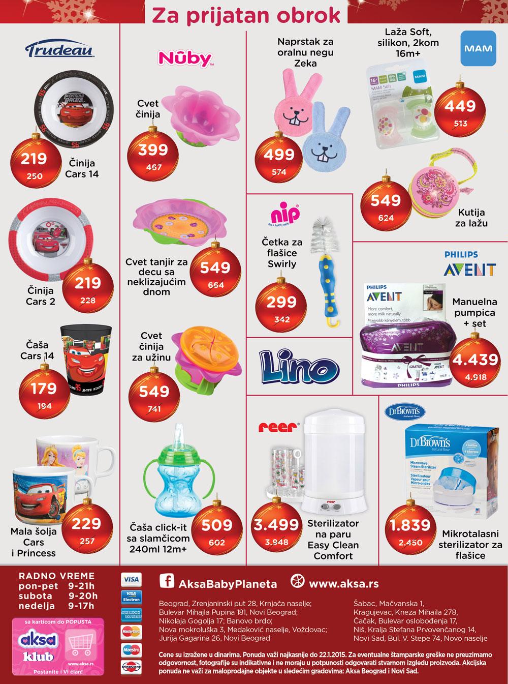 Aksa akcija praznična kupovina za vas
