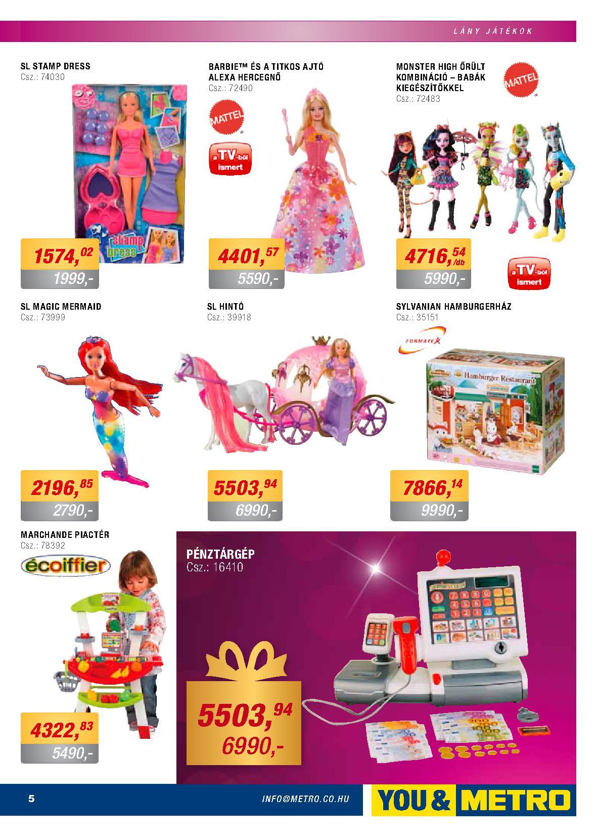 Metro Mađarska akcija igračke za najmlađe