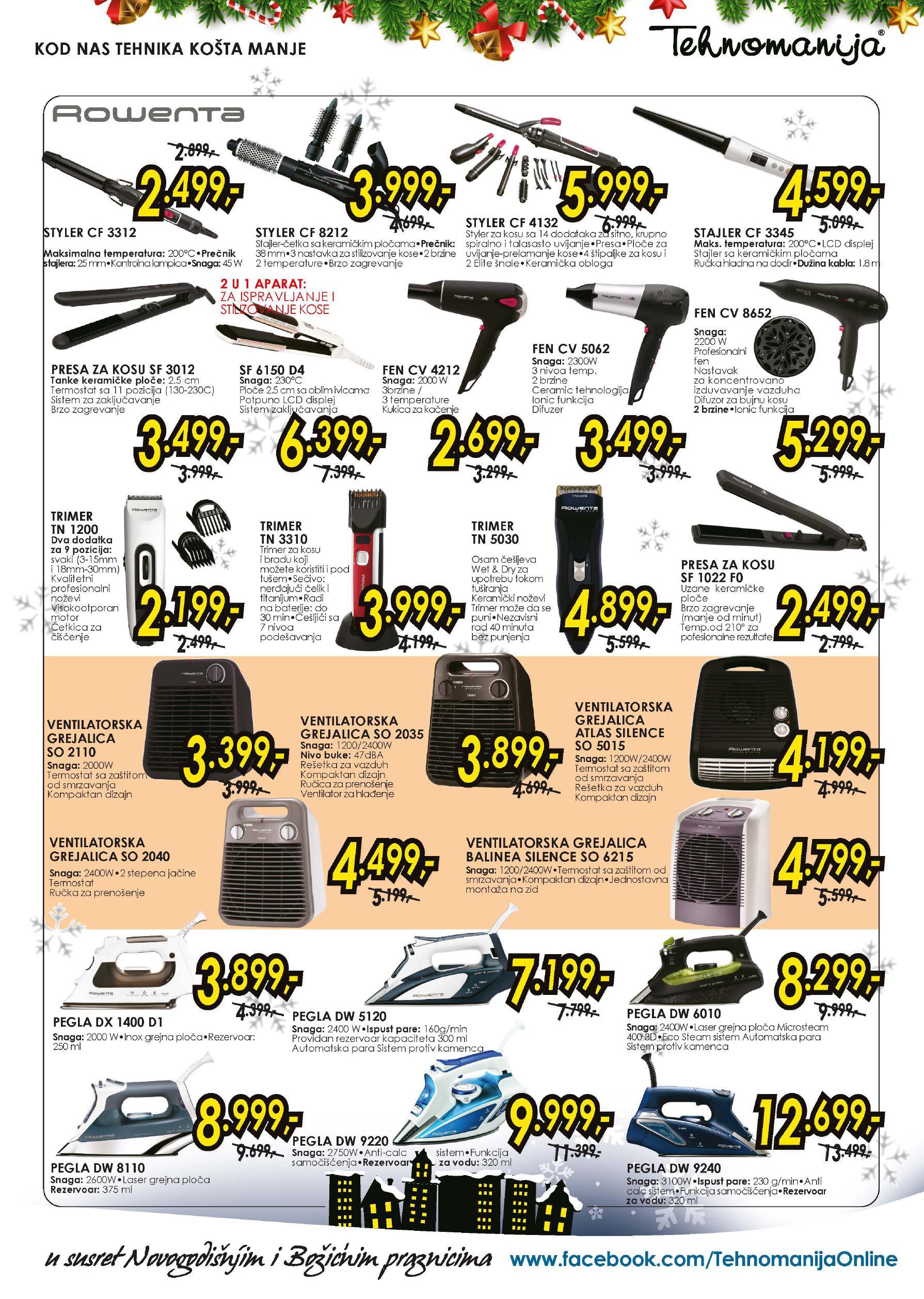 Tehnomanija katalog malih kućnih aparata