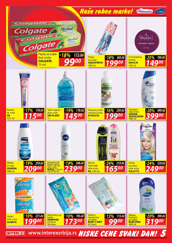 Interex katalog super cena za vas