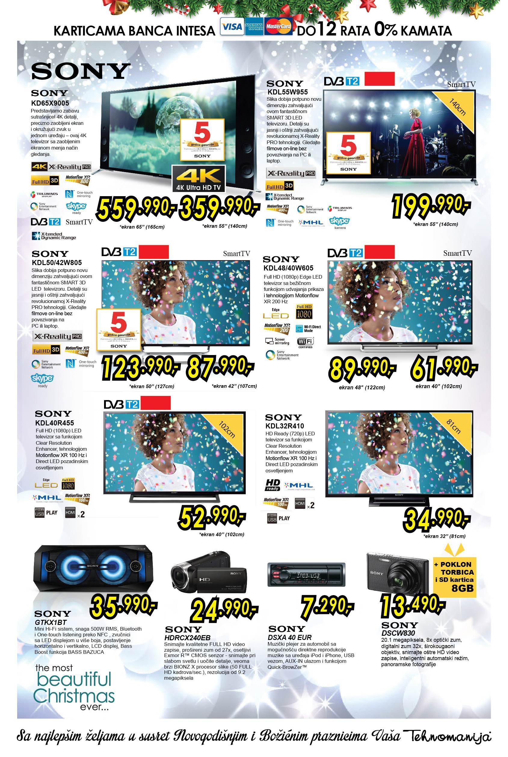 Tehnomanija akcija tv aparati po niskim cenama