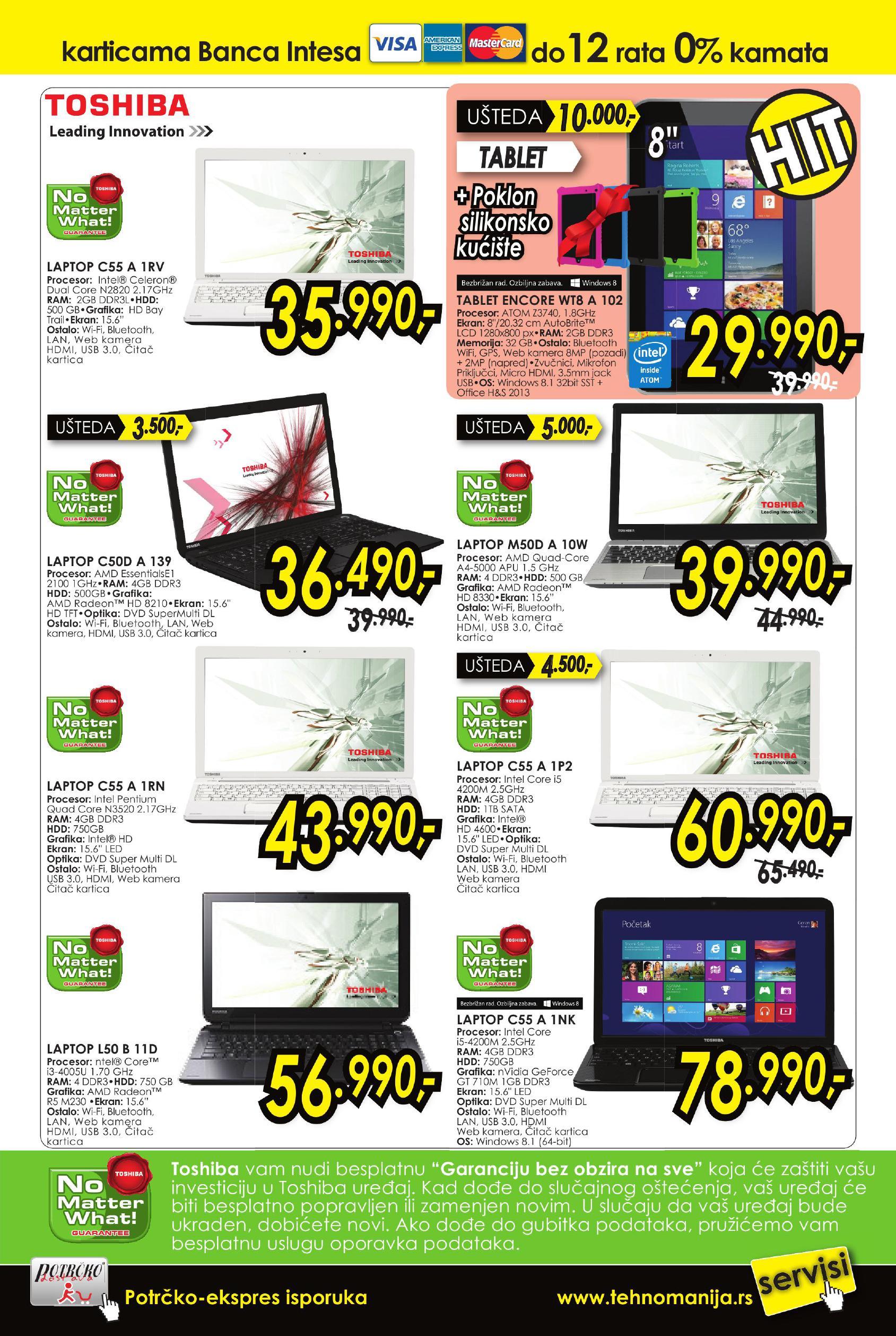 Tehnomanija akcija najbolji IT shop