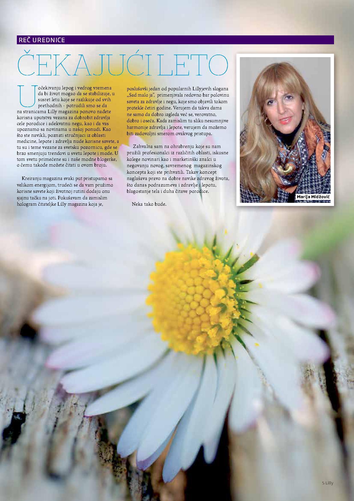 Lilly akcija letnji magazin