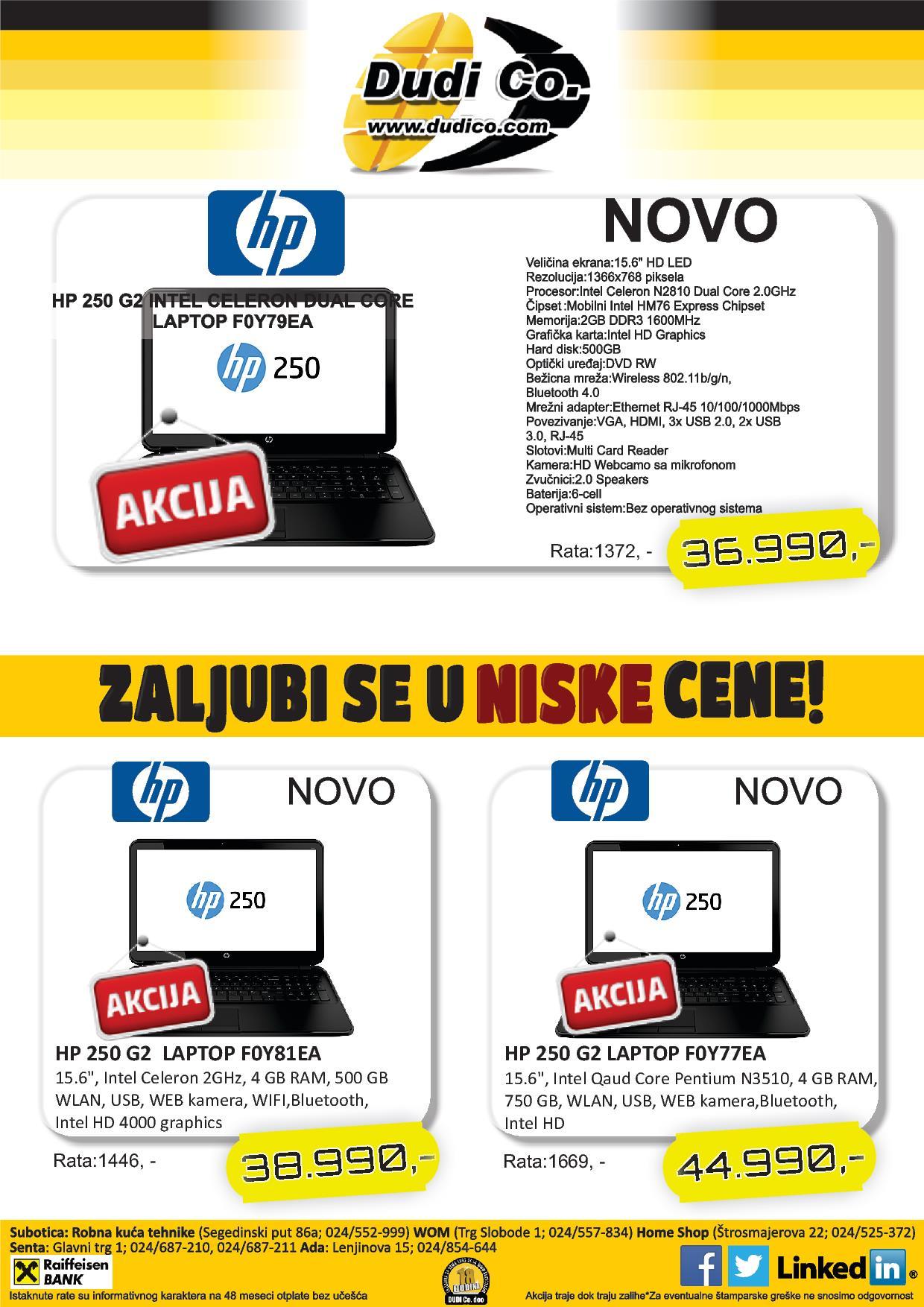 Dudico akcija super ponuda laptop uređaja