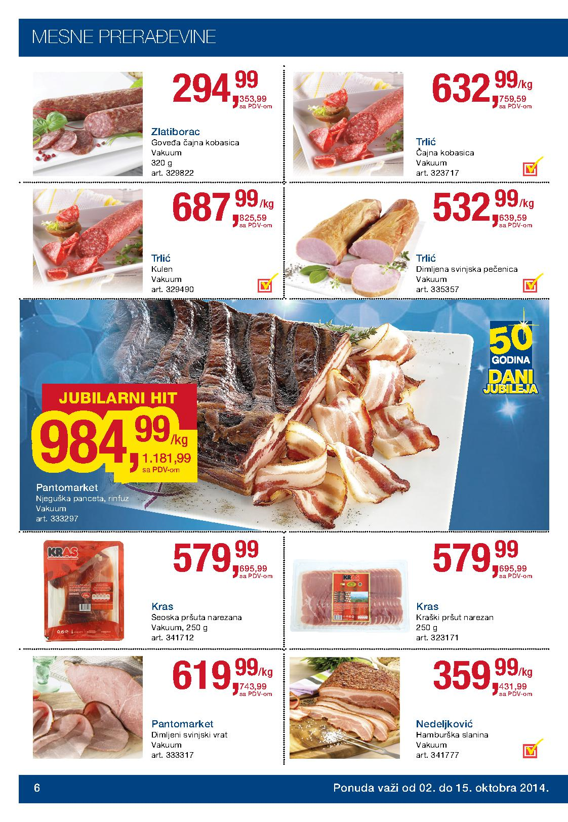 Metro prehrana akcija super cena